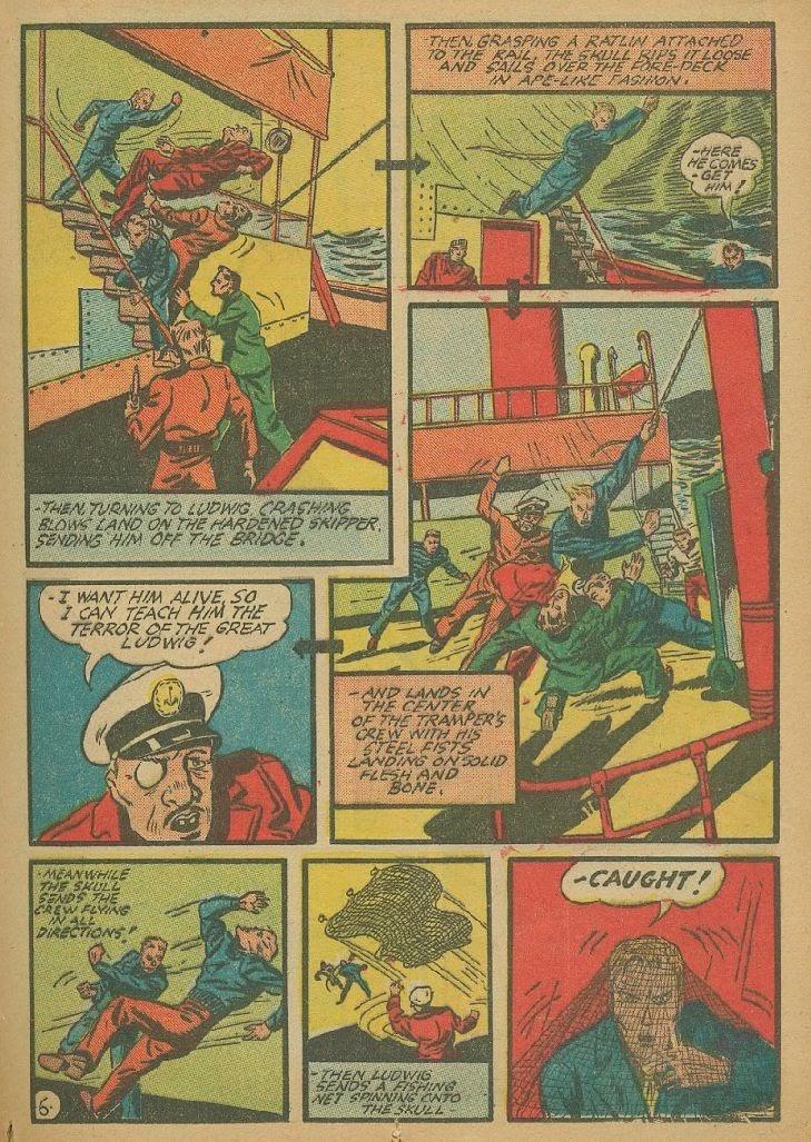 Read online Amazing Man Comics comic -  Issue #9 - 26