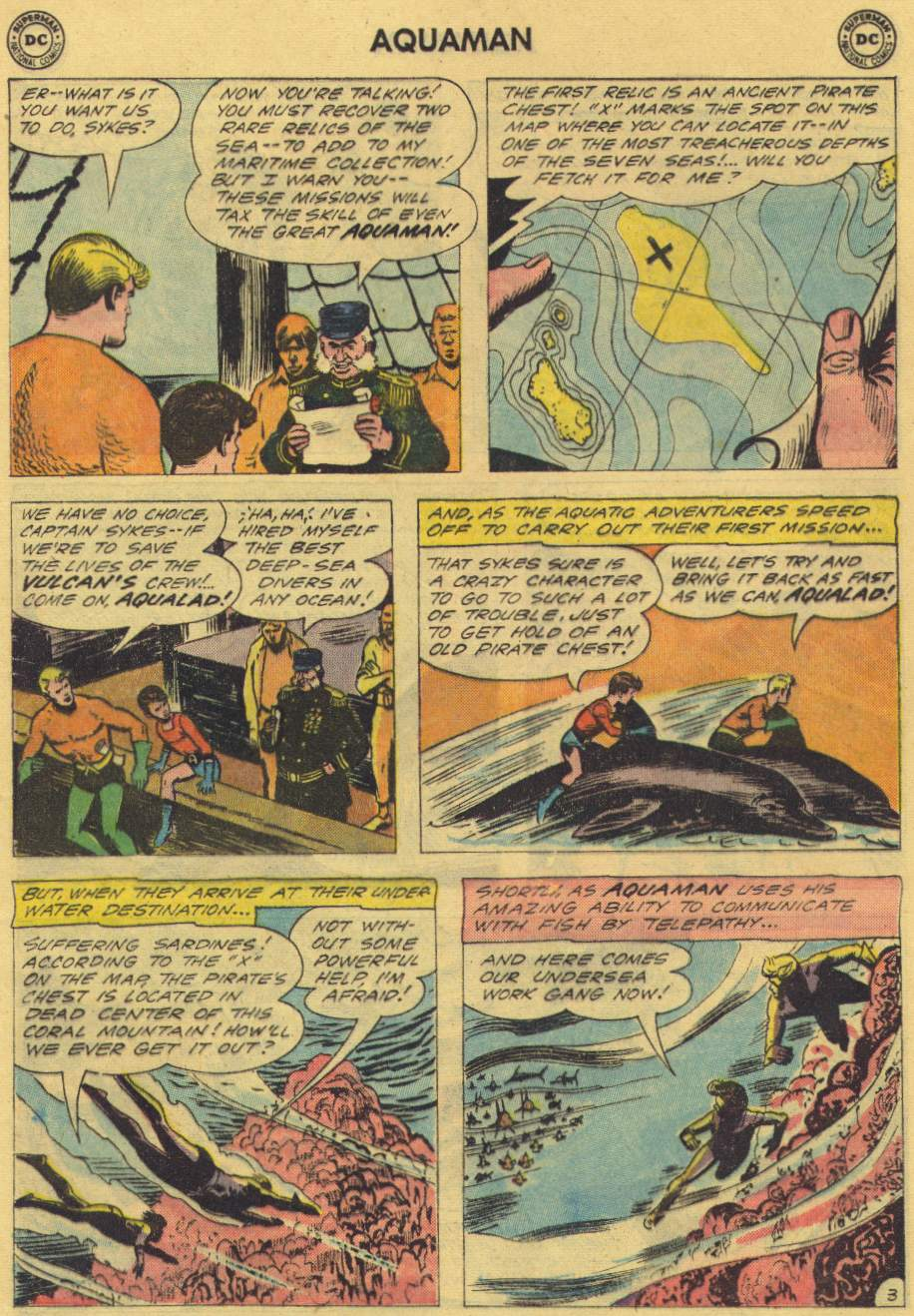 Read online Aquaman (1962) comic -  Issue #2 - 5