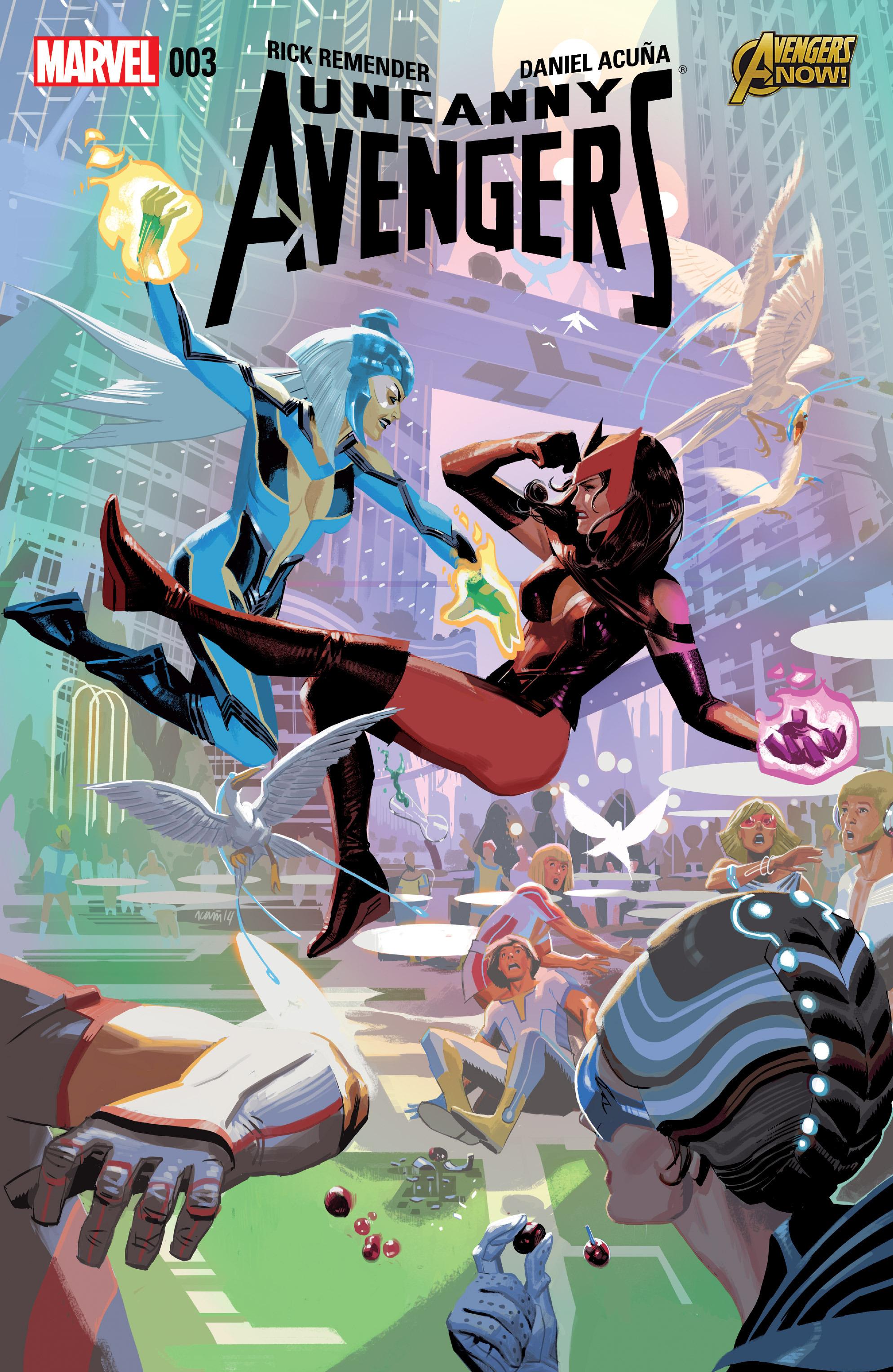 Read online Uncanny Avengers [I] comic -  Issue #3 - 1