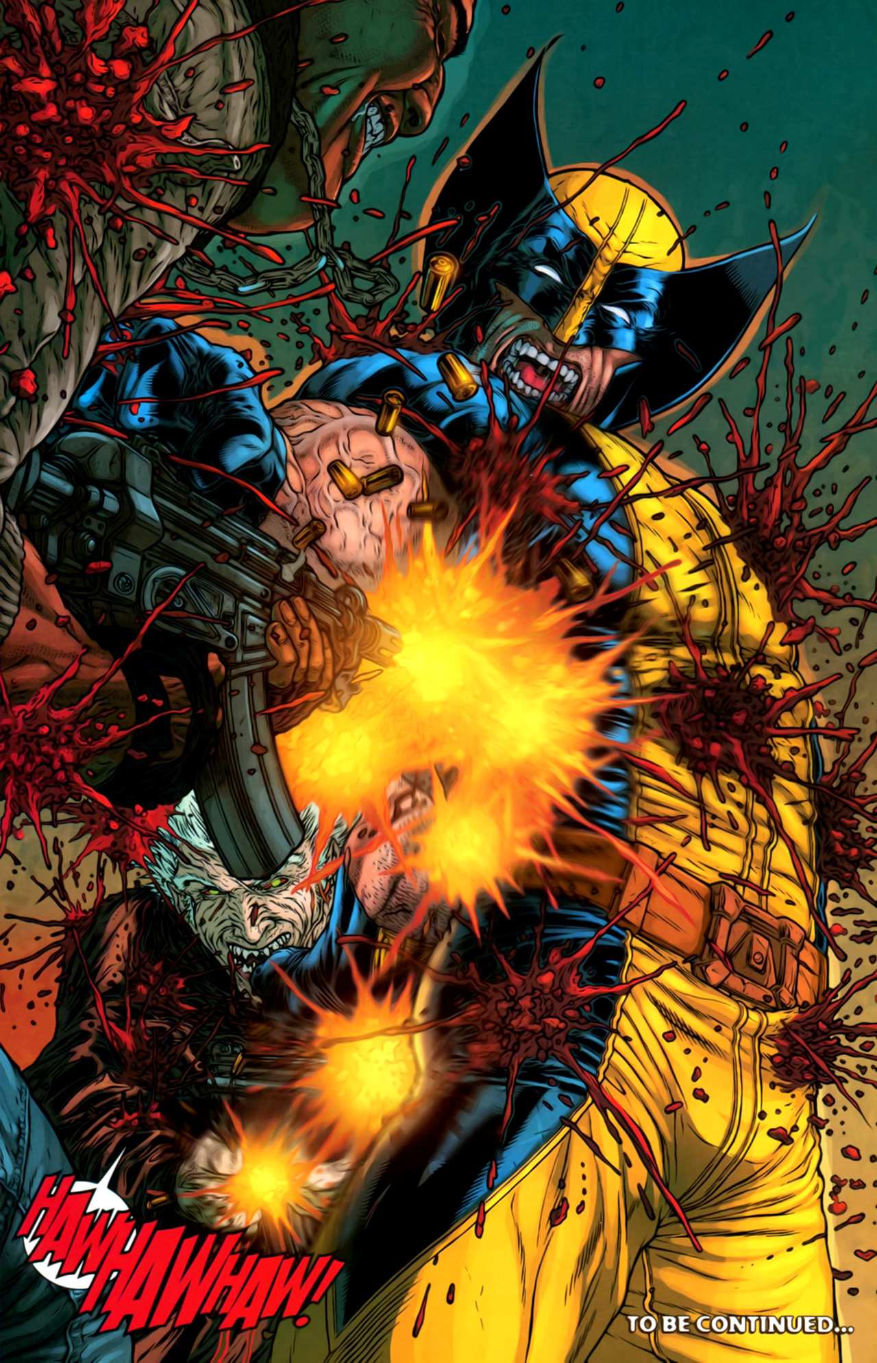Read online Wolverine: The Best There Is comic -  Issue #2 - 23
