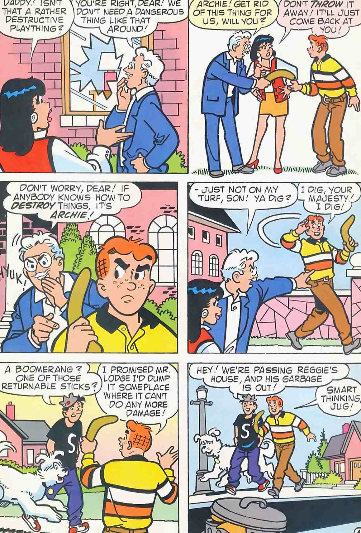 Read online Archie (1960) comic -  Issue #454 - 10