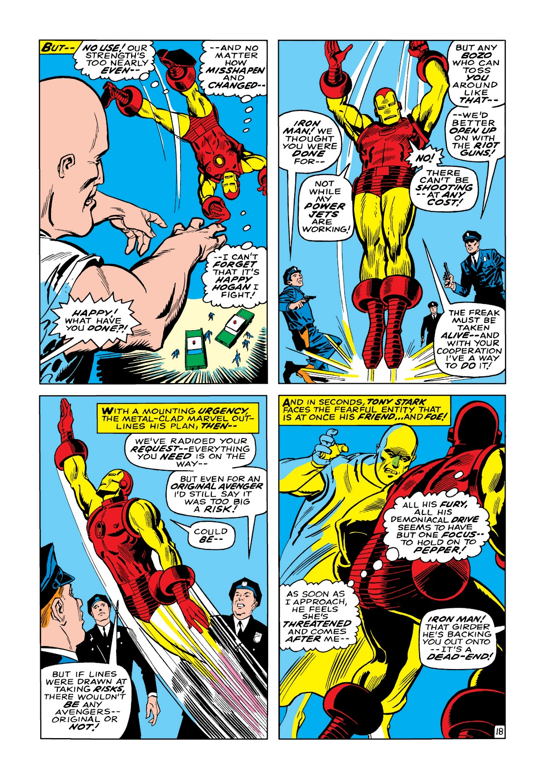 Read online Marvel Masterworks: The Invincible Iron Man comic -  Issue # TPB 5 (Part 1) - 46