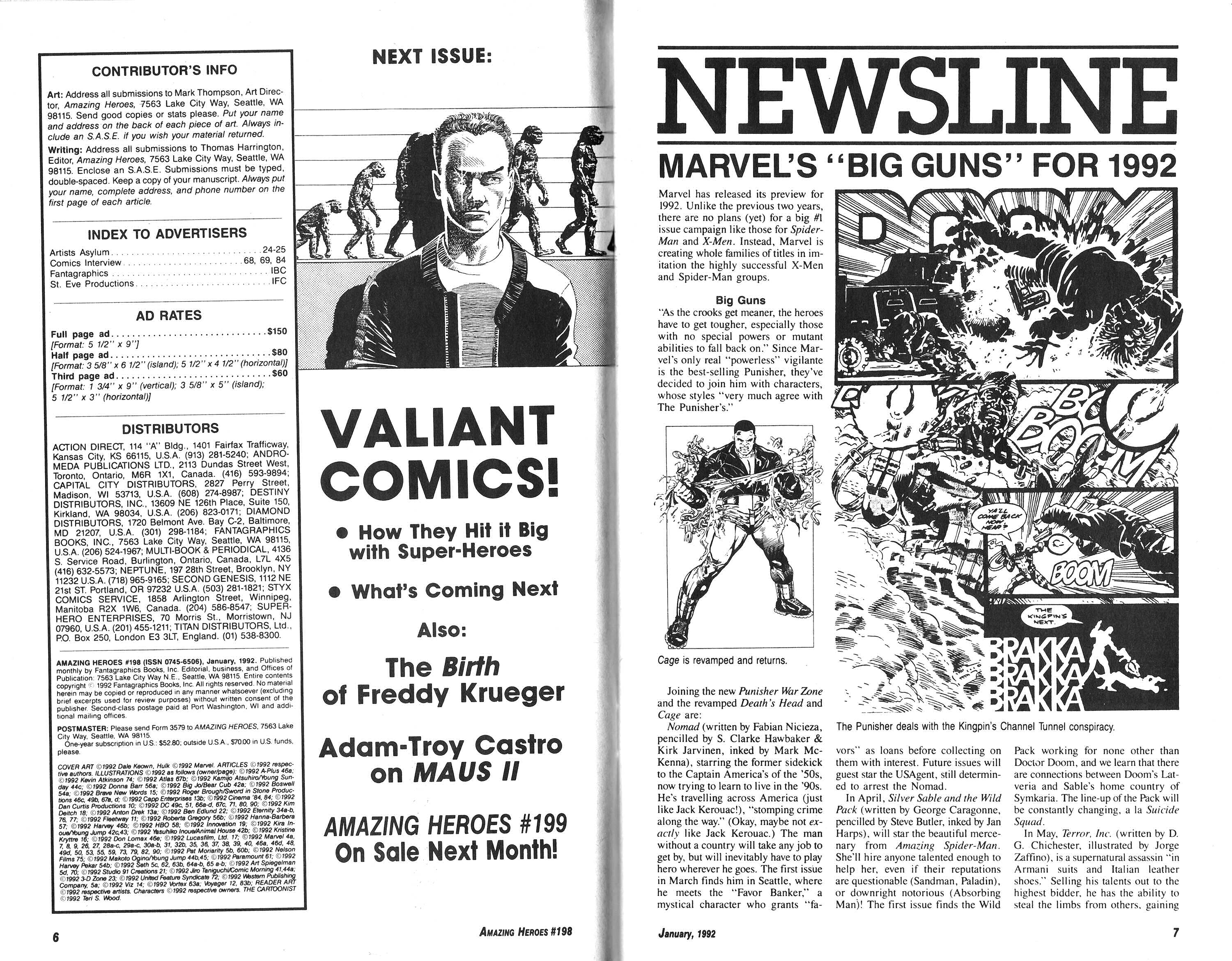 Read online Amazing Heroes comic -  Issue #198 - 4
