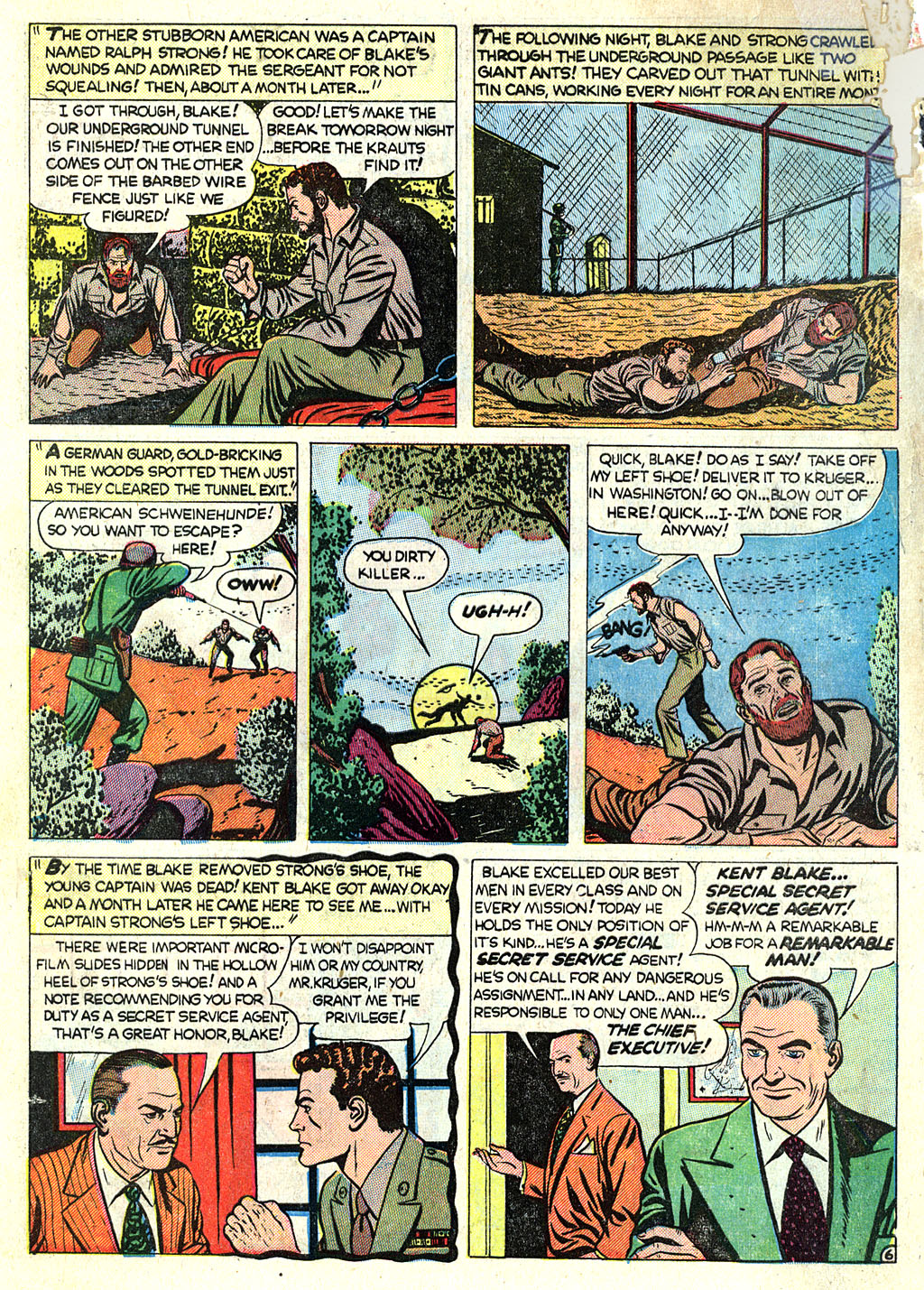 Kent Blake of the Secret Service issue 1 - Page 8