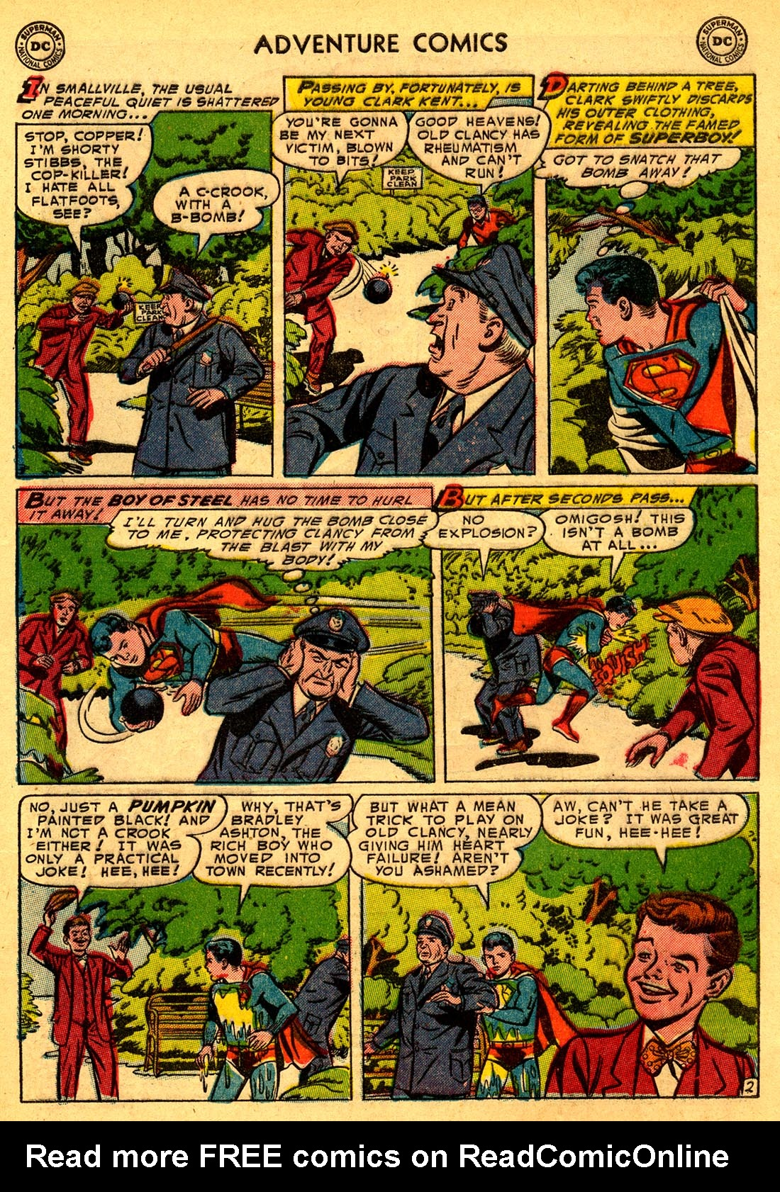 Read online Adventure Comics (1938) comic -  Issue #204 - 4