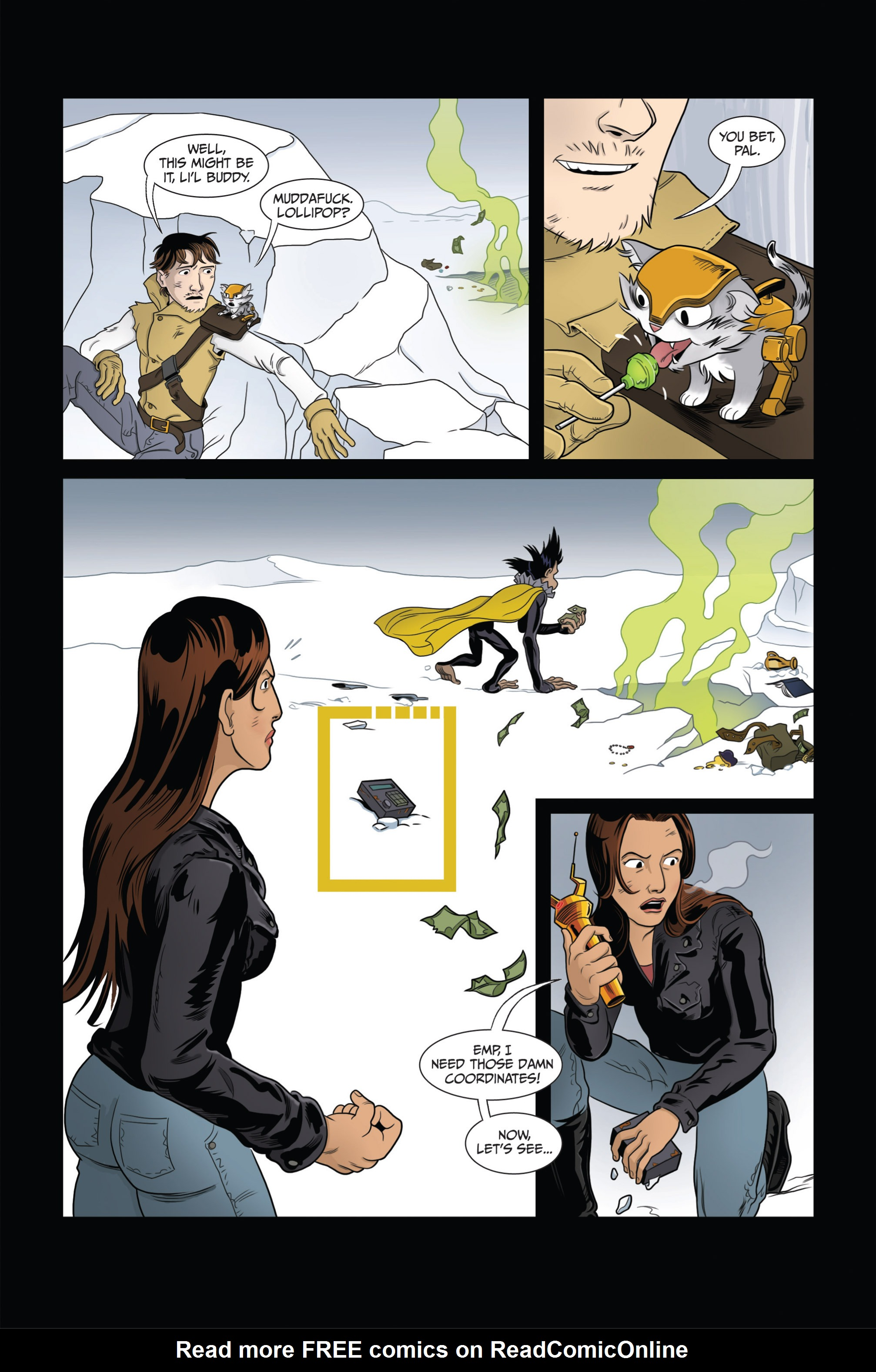 Read online Ehmm Theory: Everything & Small Doses comic -  Issue #3 - 17