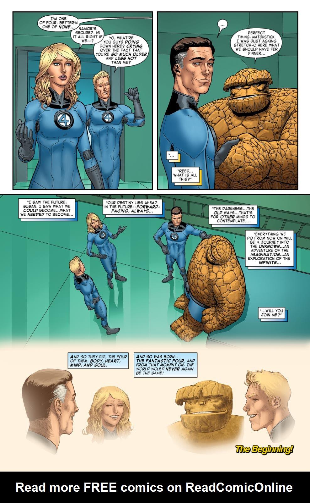 Read online Fantastic Four: Season One comic -  Issue # TPB - 106