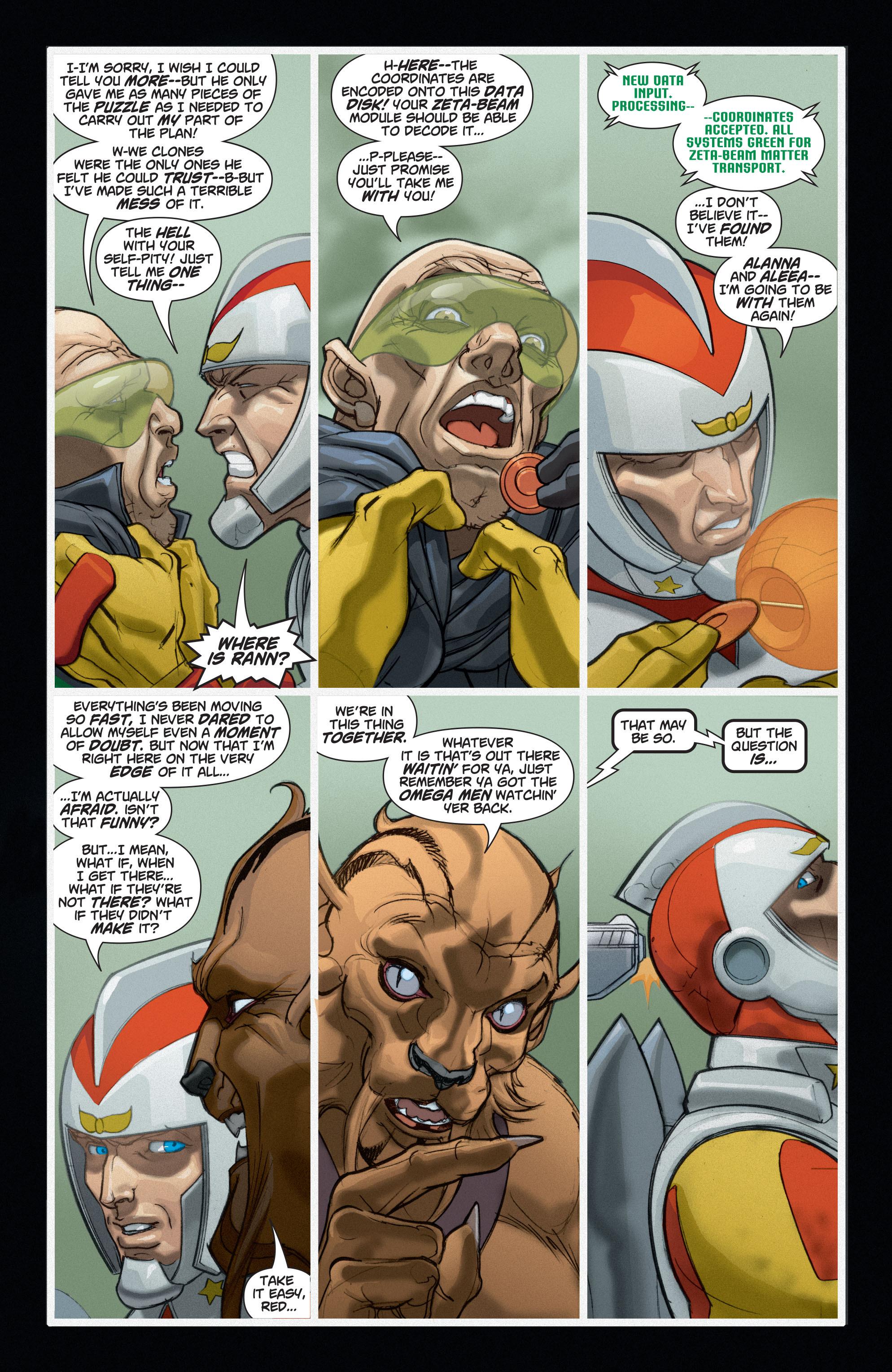 Read online Adam Strange (2004) comic -  Issue #6 - 4