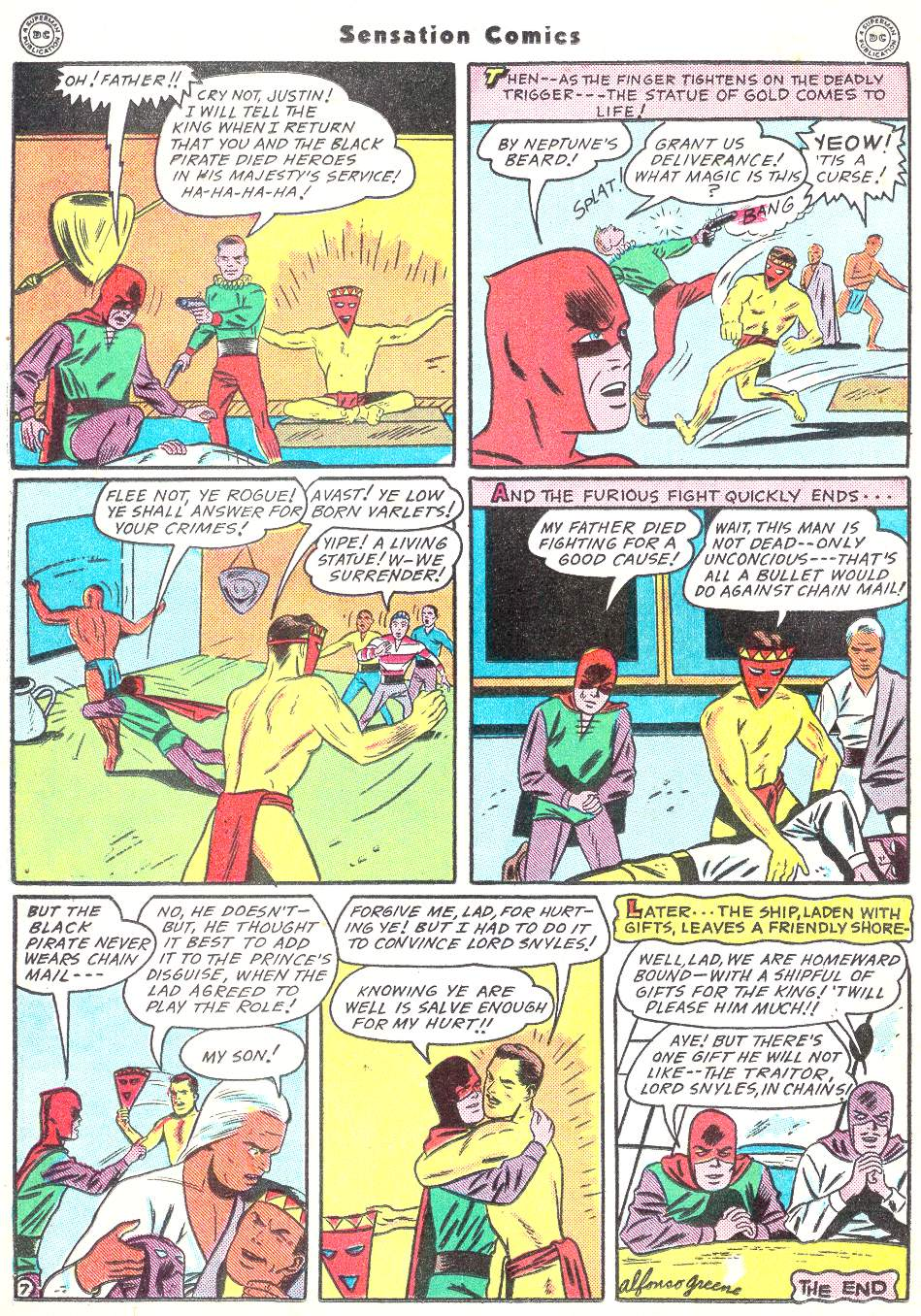 Read online Sensation (Mystery) Comics comic -  Issue #50 - 38
