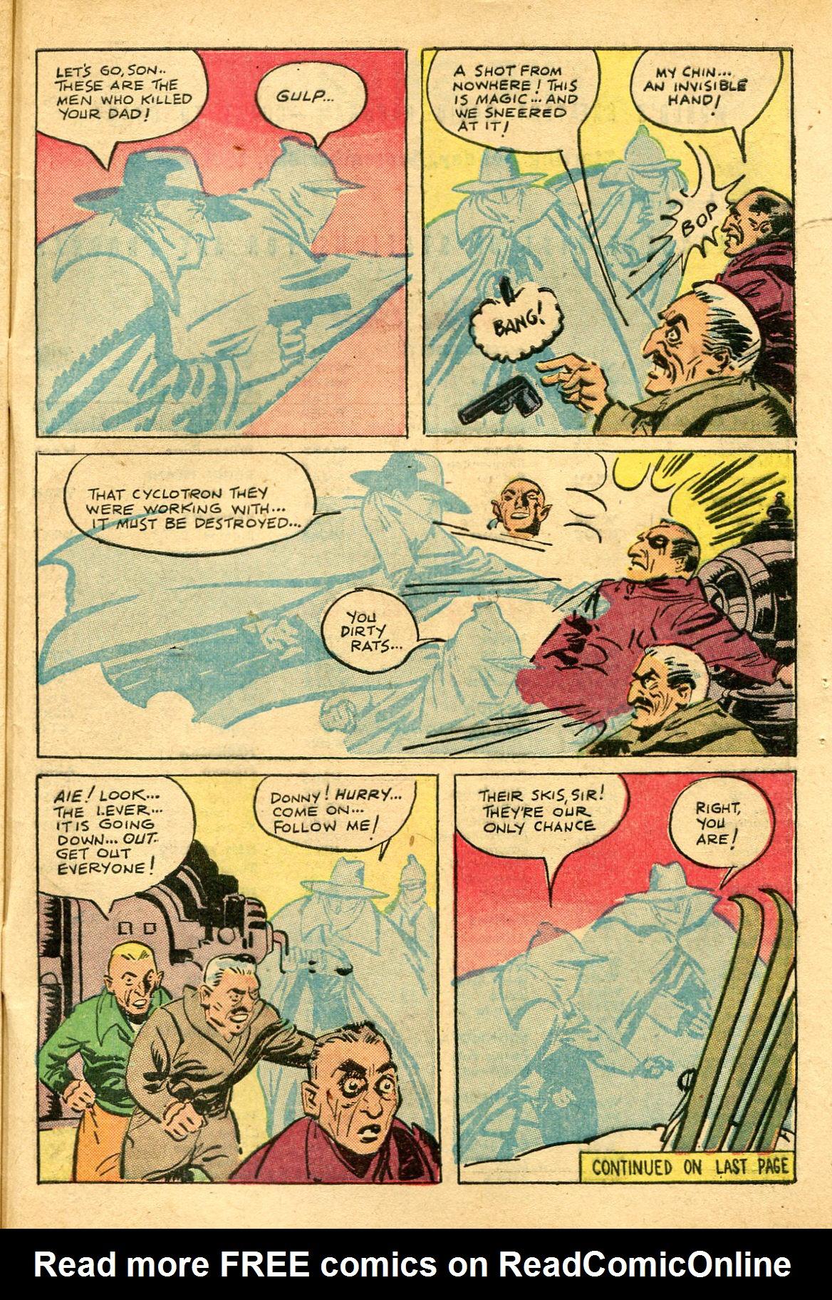 Read online Shadow Comics comic -  Issue #69 - 47