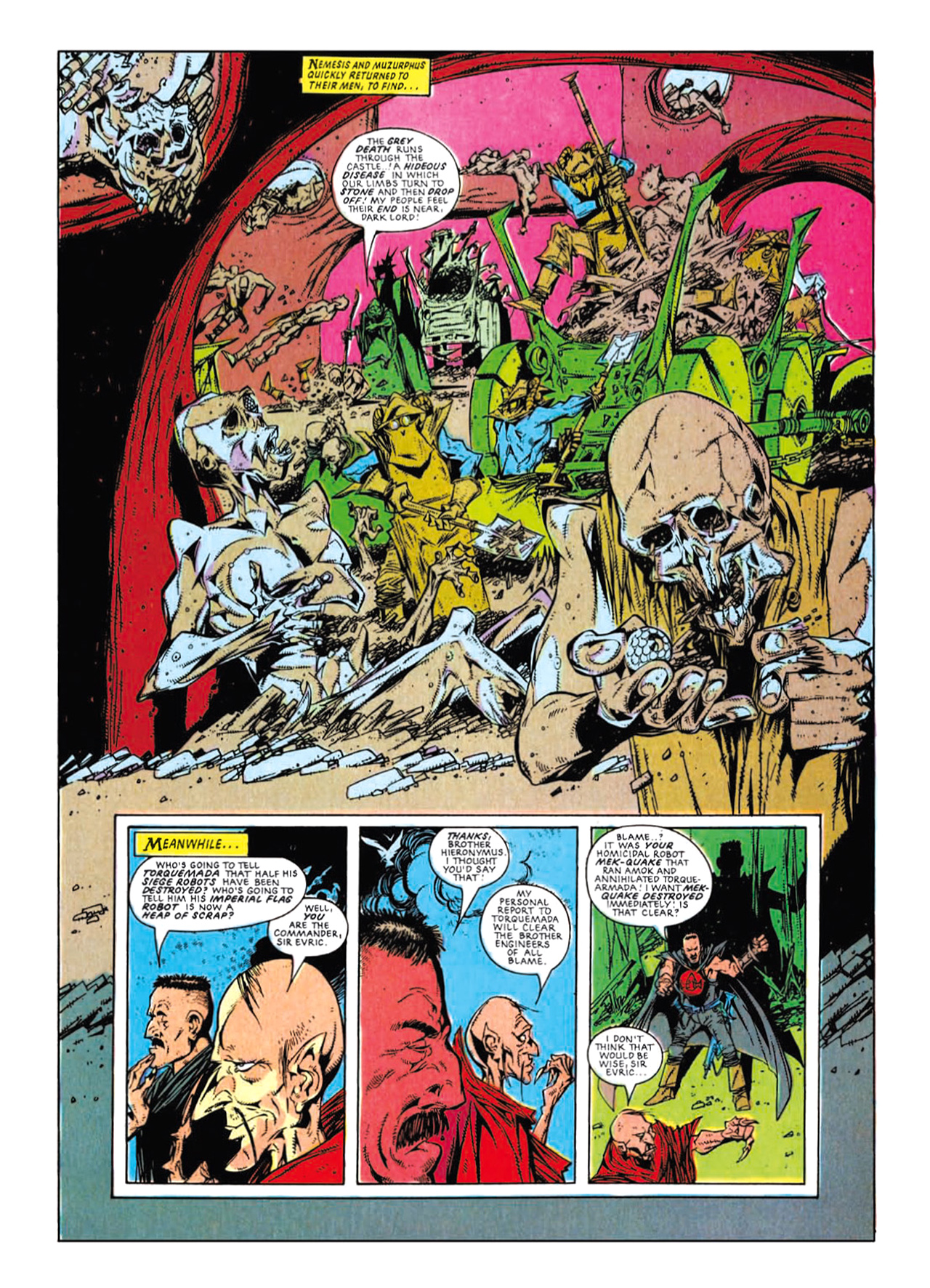 Read online Nemesis The Warlock comic -  Issue # TPB Deviant Edition - 196