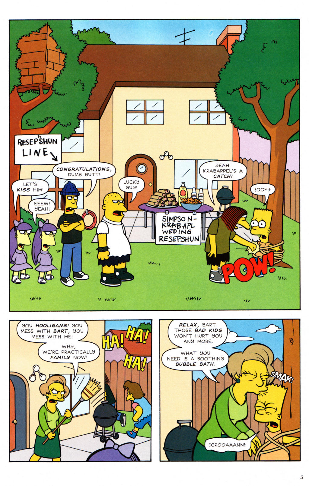 Read online Simpsons Comics Presents Bart Simpson comic -  Issue #34 - 6