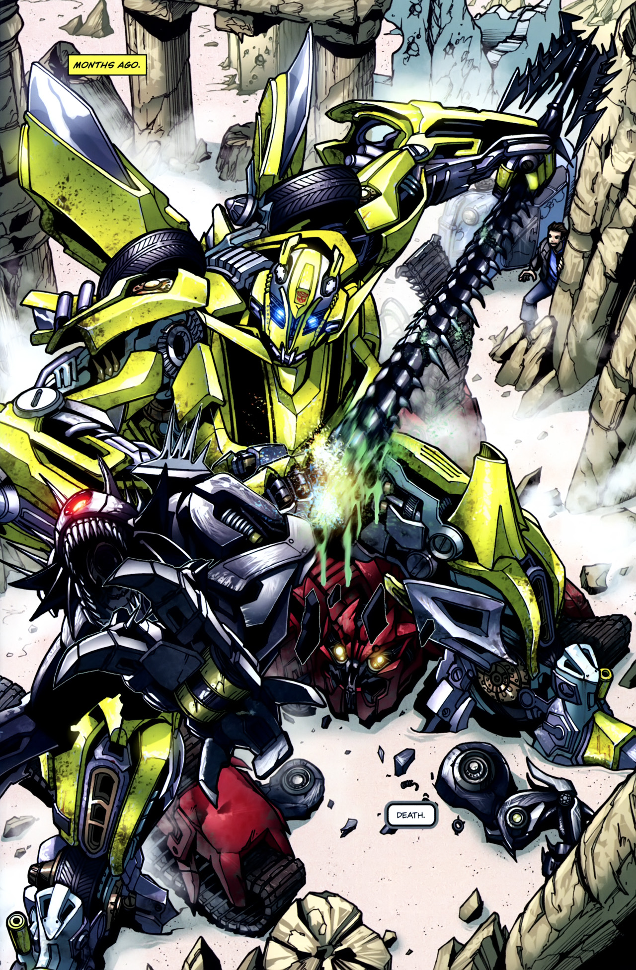 Read online Transformers: Tales of The Fallen comic -  Issue #5 - 3