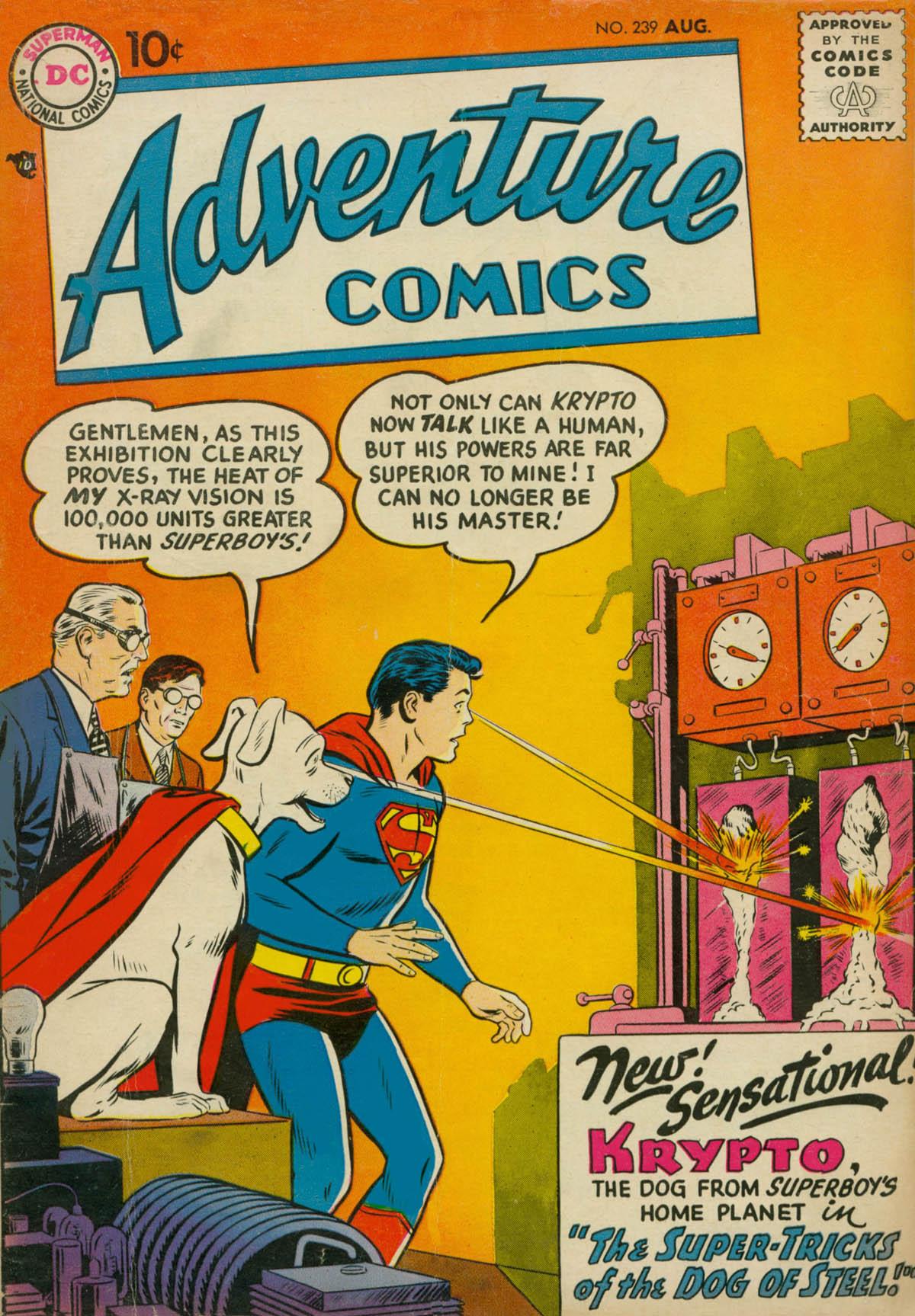 Read online Adventure Comics (1938) comic -  Issue #239 - 1