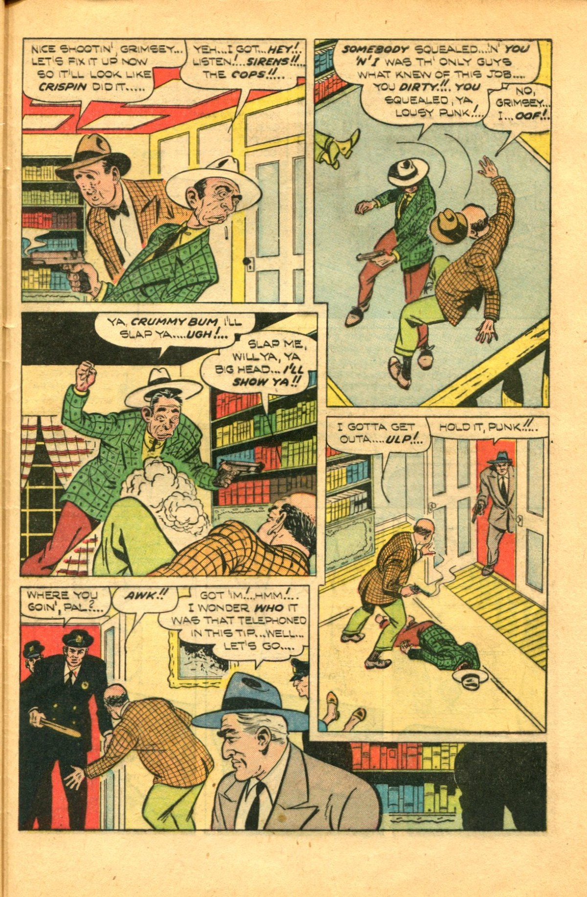 Read online Shadow Comics comic -  Issue #91 - 45