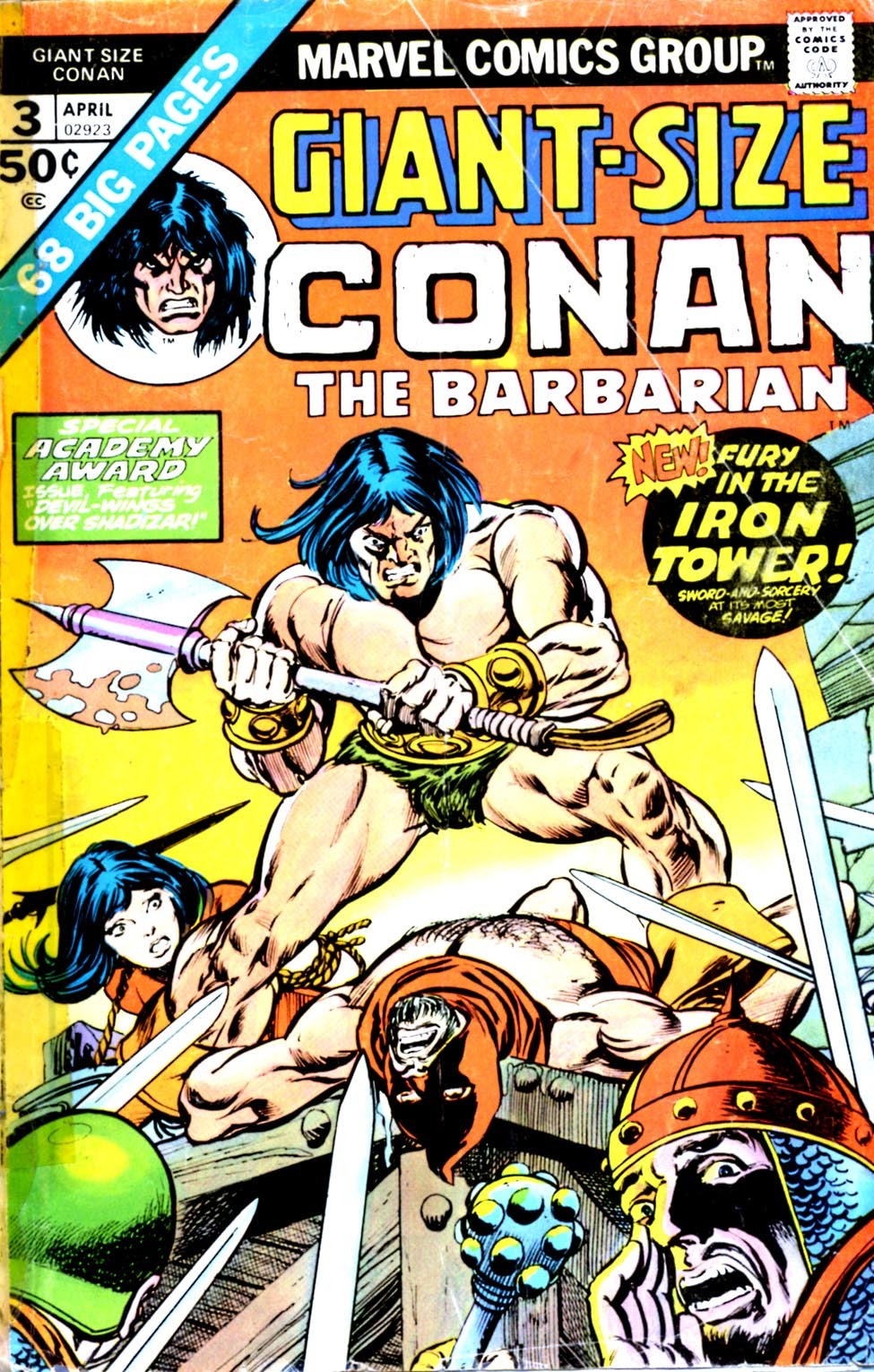 Giant-Size Conan issue 3 - Page 1