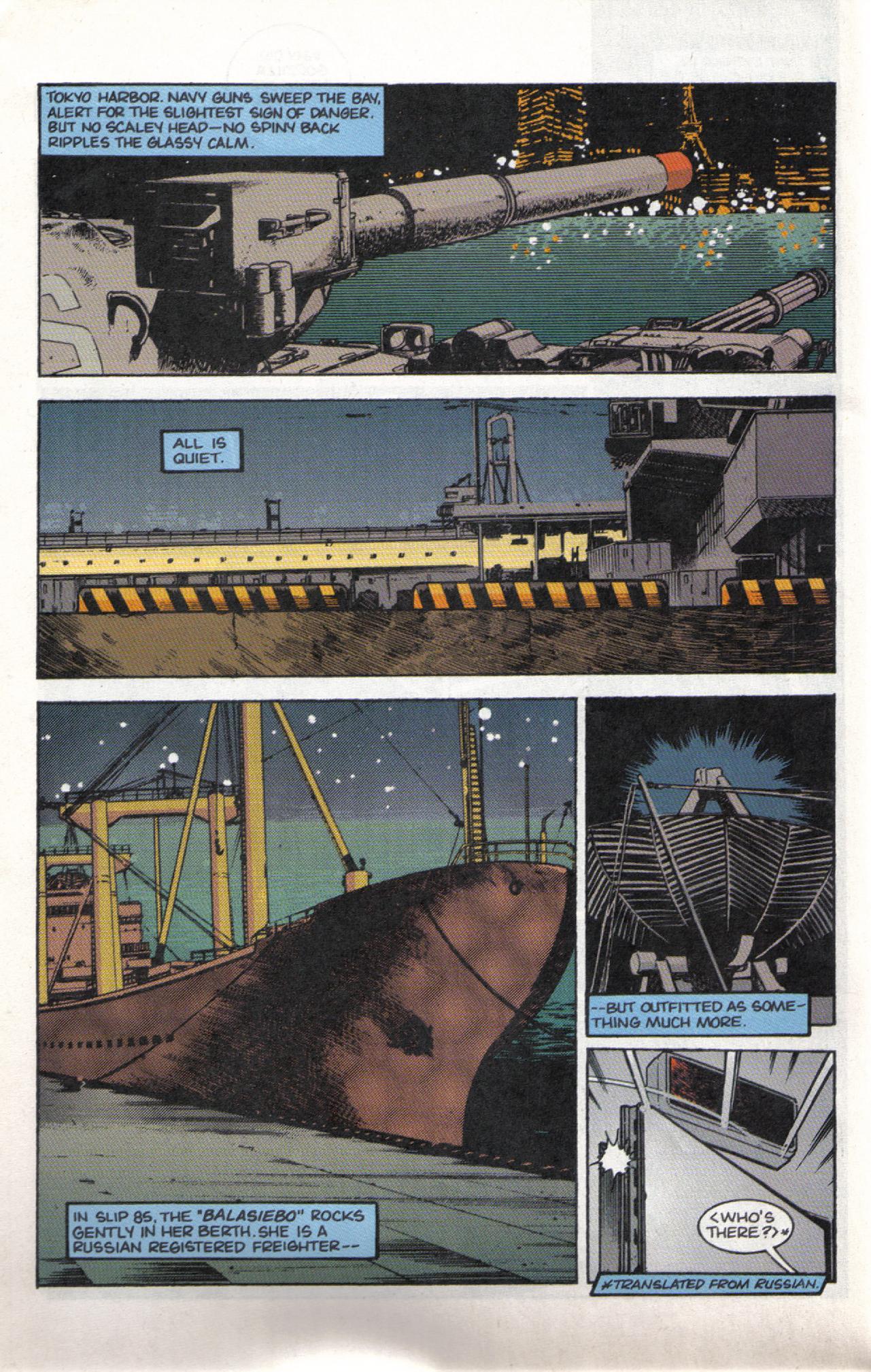 Read online Dark Horse Classics: Terror of Godzilla comic -  Issue #3 - 10