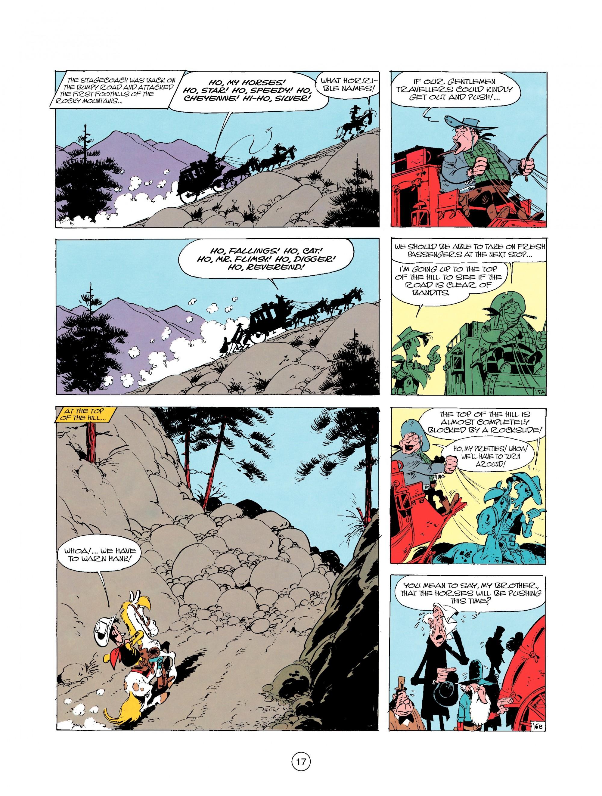 Read online A Lucky Luke Adventure comic -  Issue #25 - 17