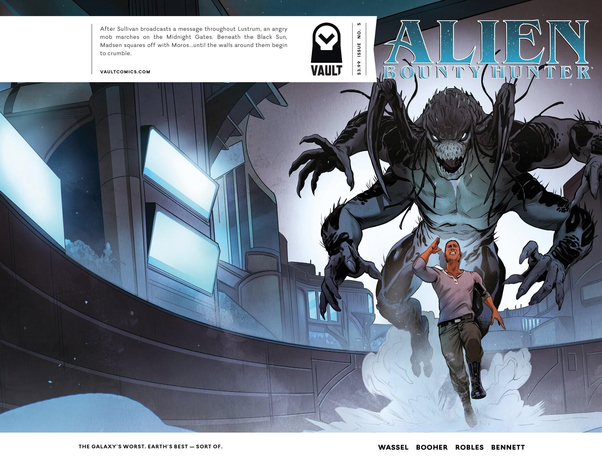 Alien Bounty Hunter 5 Page 1
