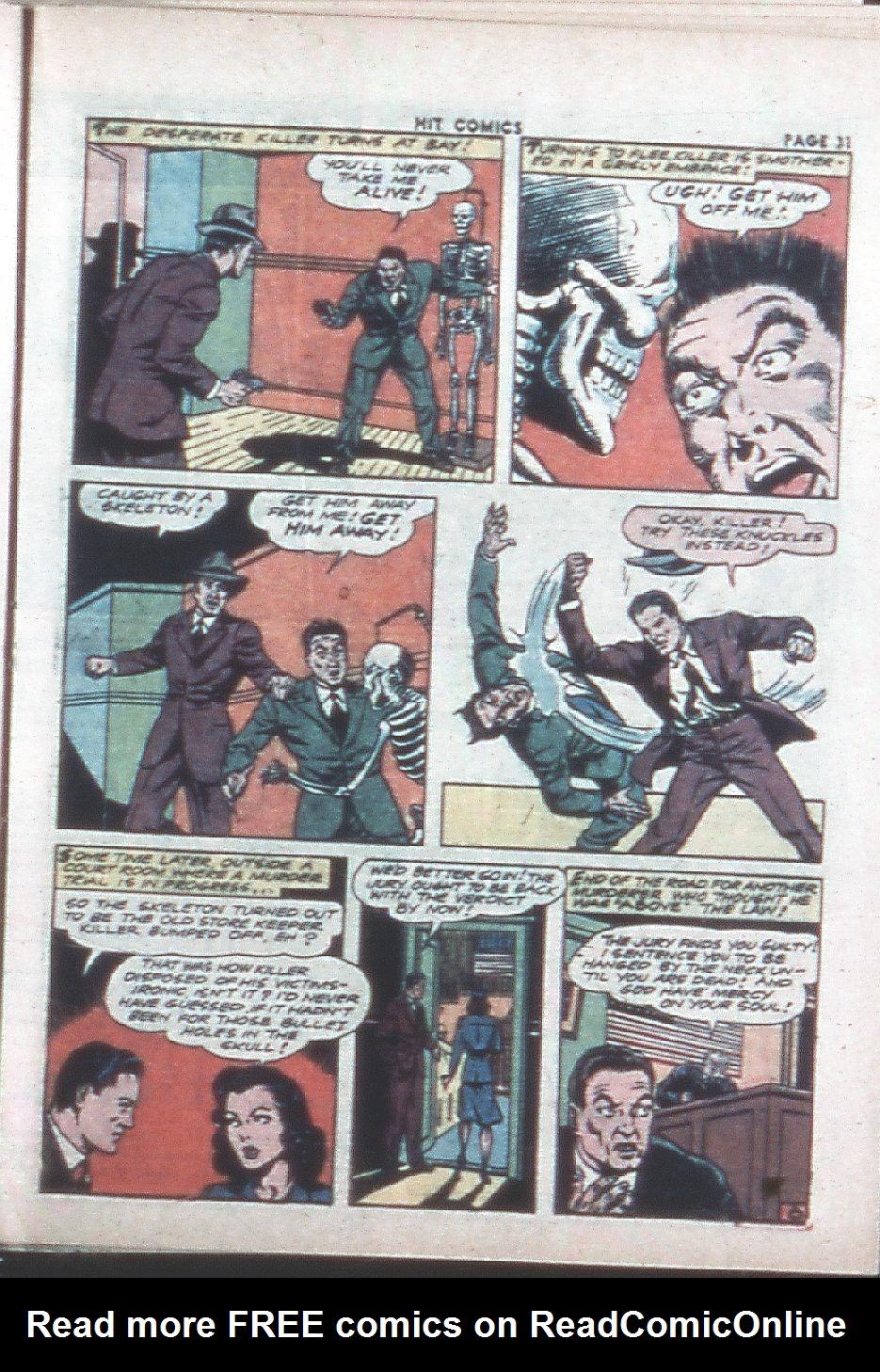 Read online Hit Comics comic -  Issue #26 - 33