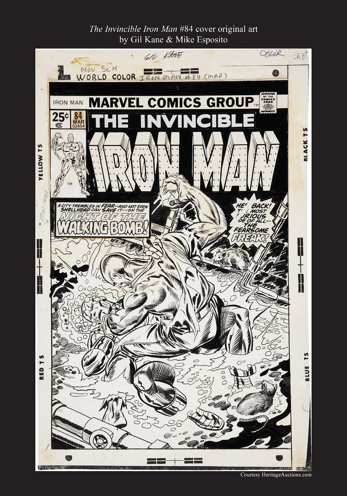 Read online Marvel Masterworks: The Invincible Iron Man comic -  Issue # TPB 11 (Part 3) - 121