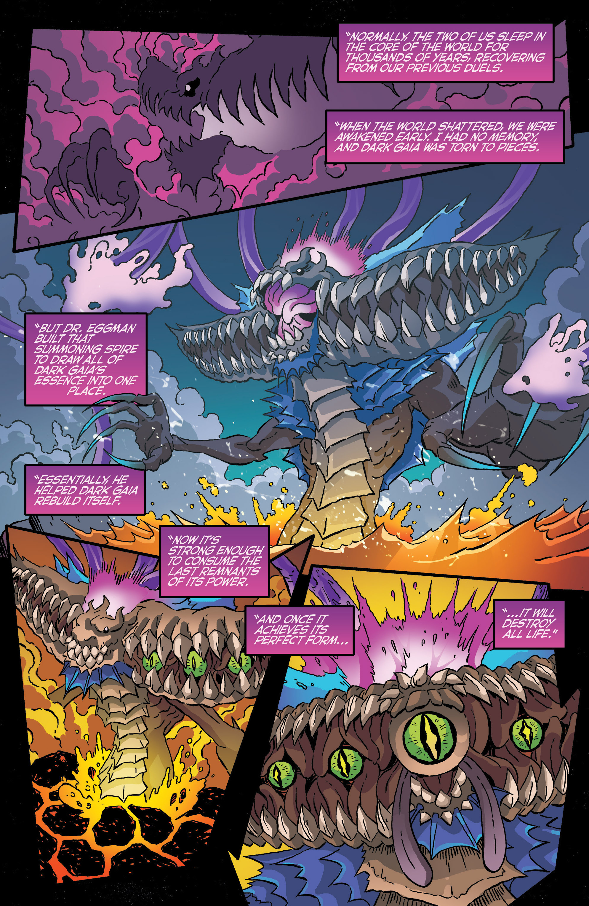 Read online Sonic The Hedgehog comic -  Issue #286 - 19
