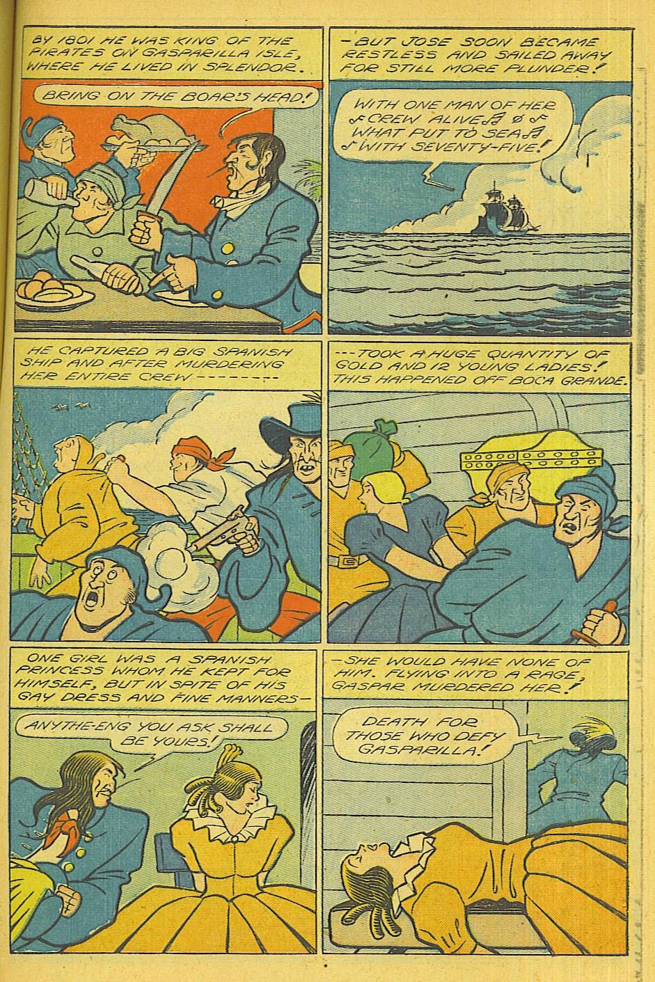 Read online Super-Magician Comics comic -  Issue #39 - 40