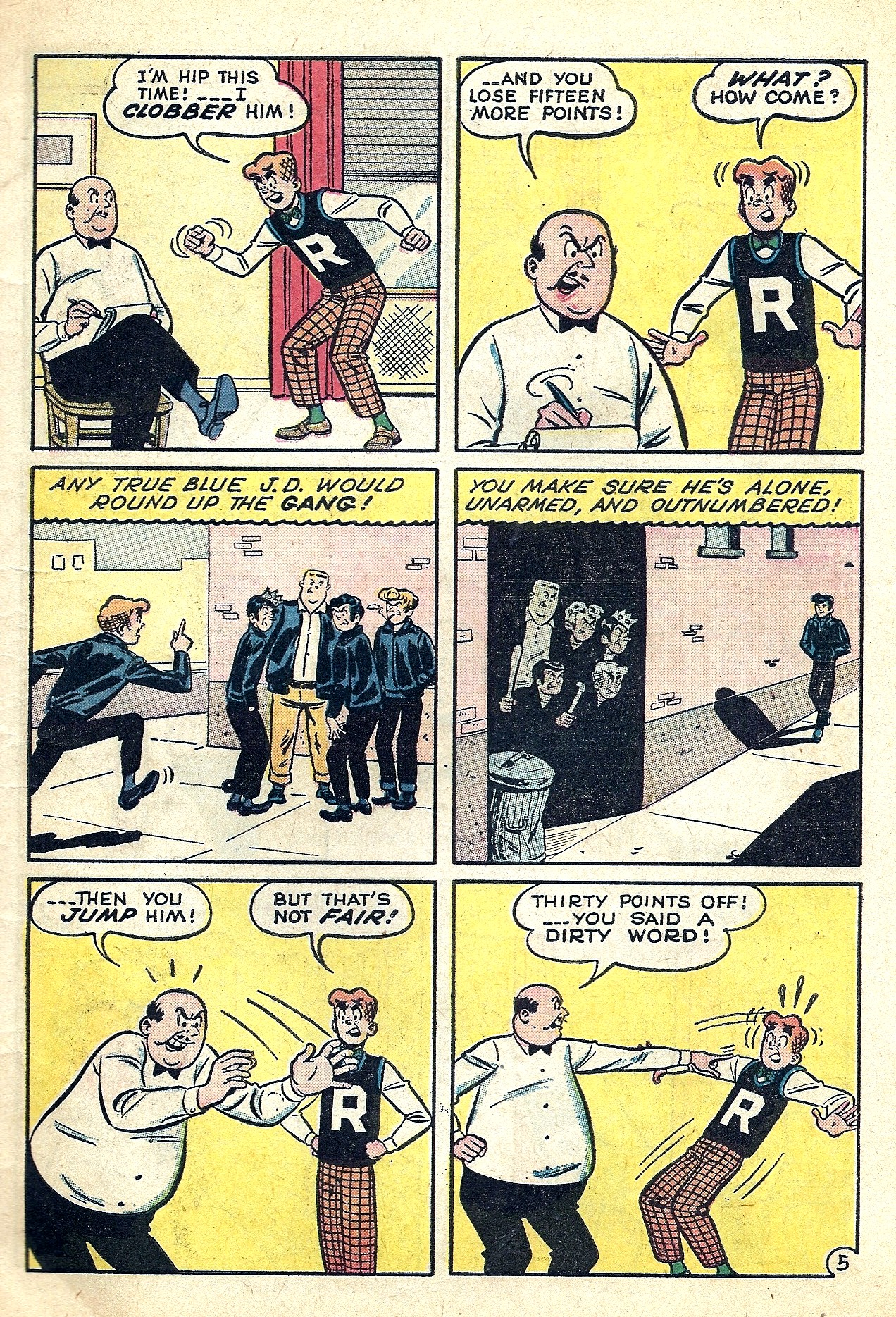 Read online Archie (1960) comic -  Issue #130 - 7