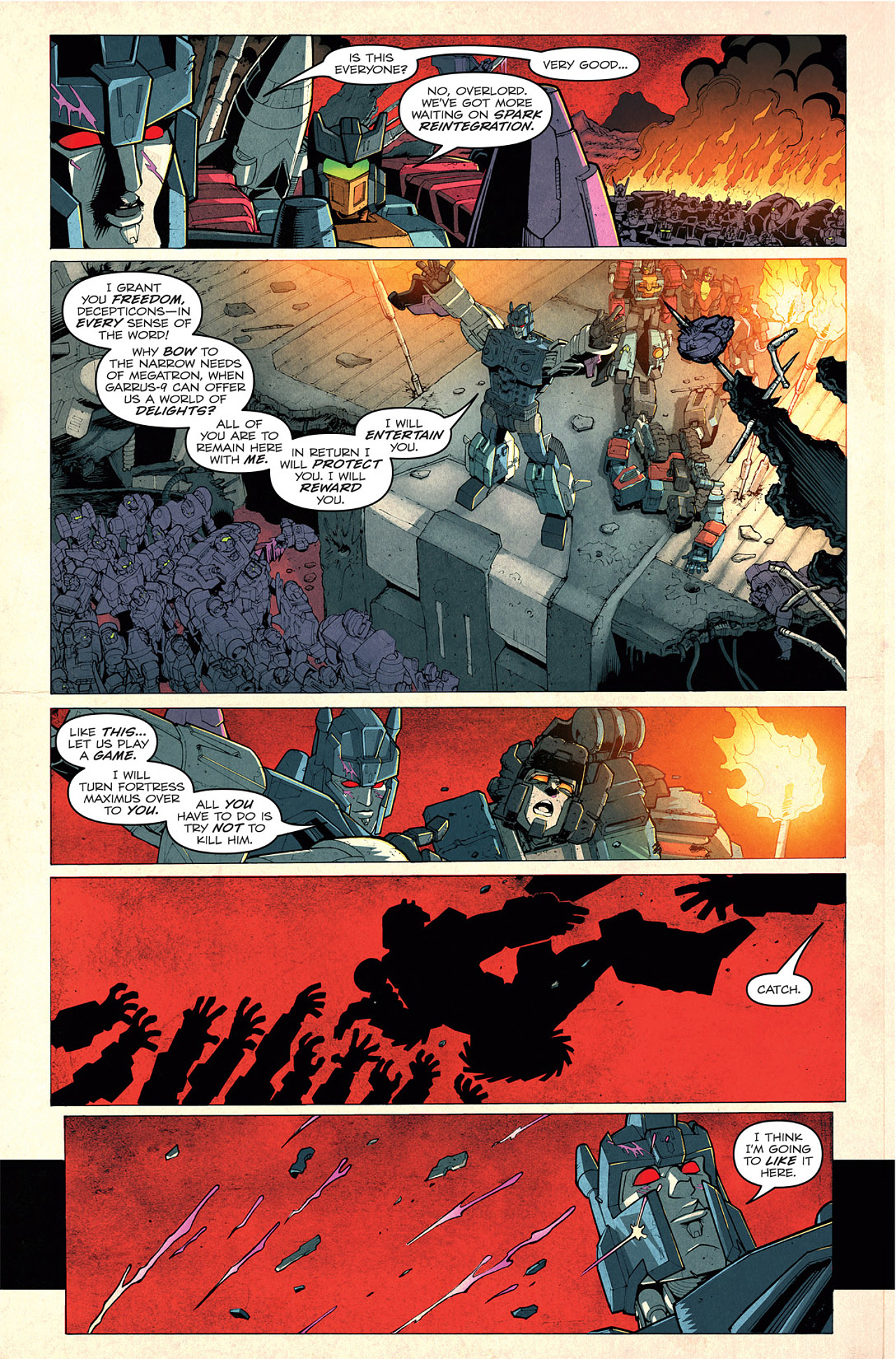 Read online Transformers: Last Stand of The Wreckers comic -  Issue #1 - 10