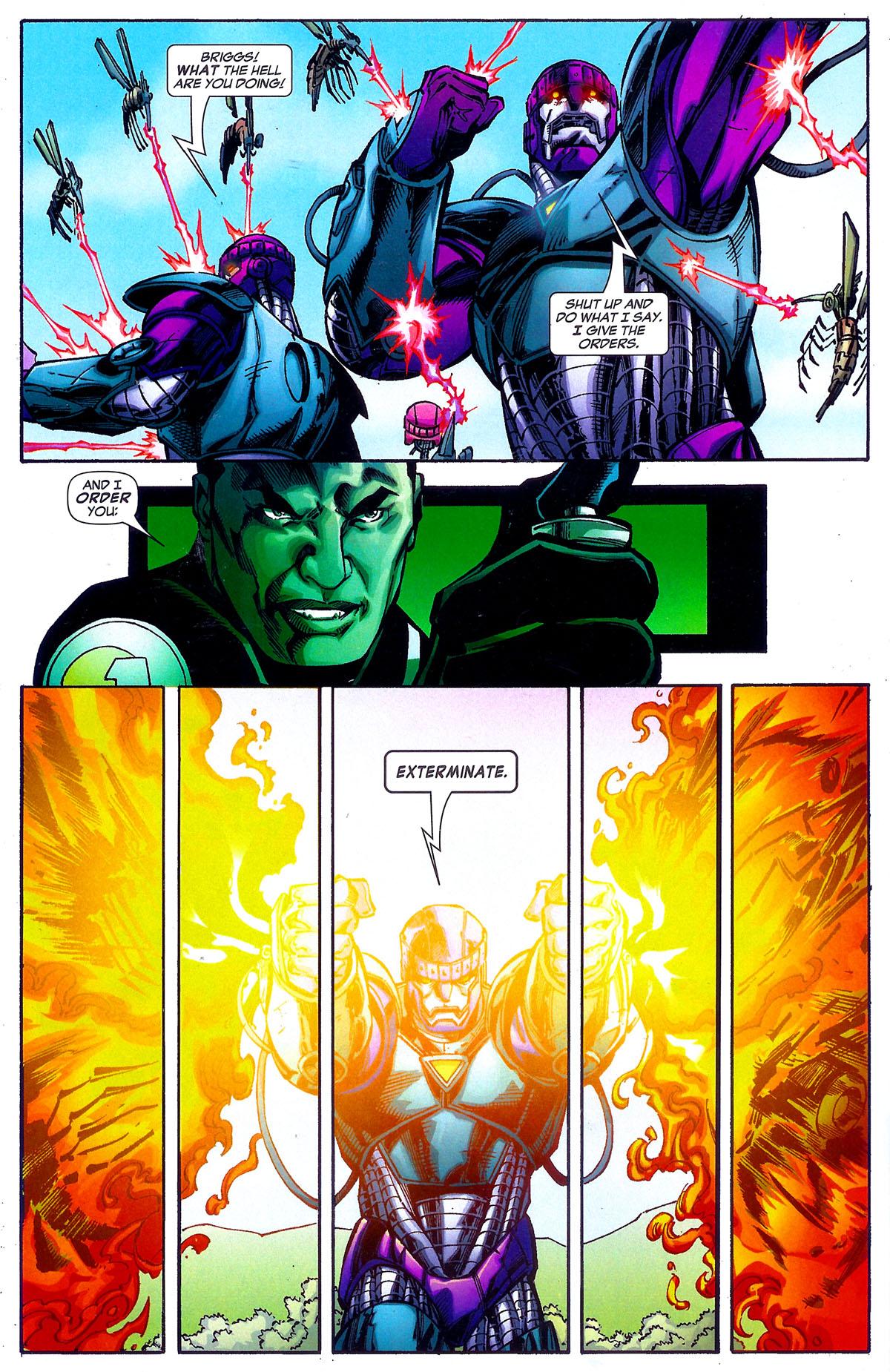 Read online Sentinel Squad O*N*E comic -  Issue #5 - 11