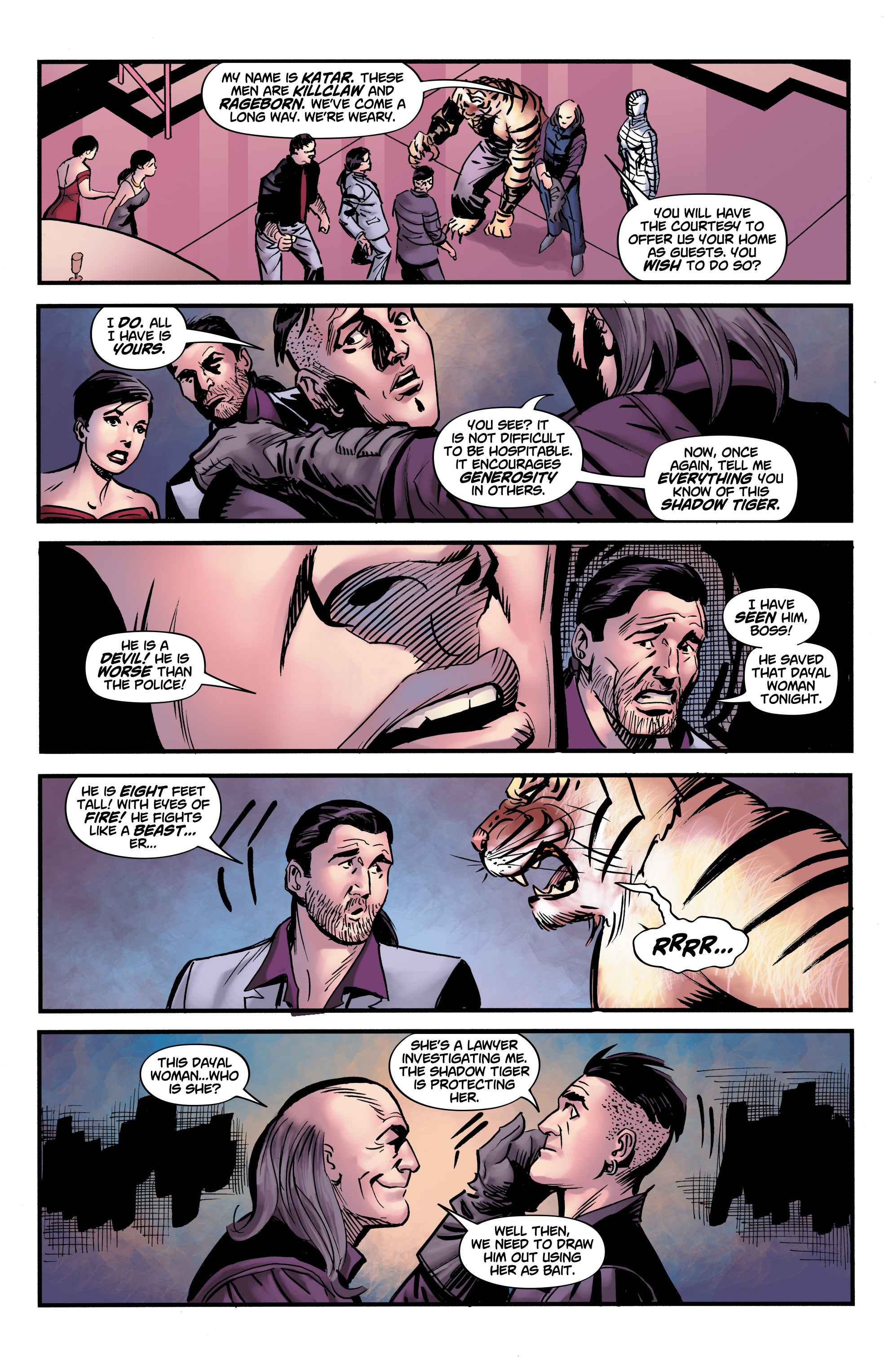 Read online Shadow Tiger comic -  Issue #3 - 7