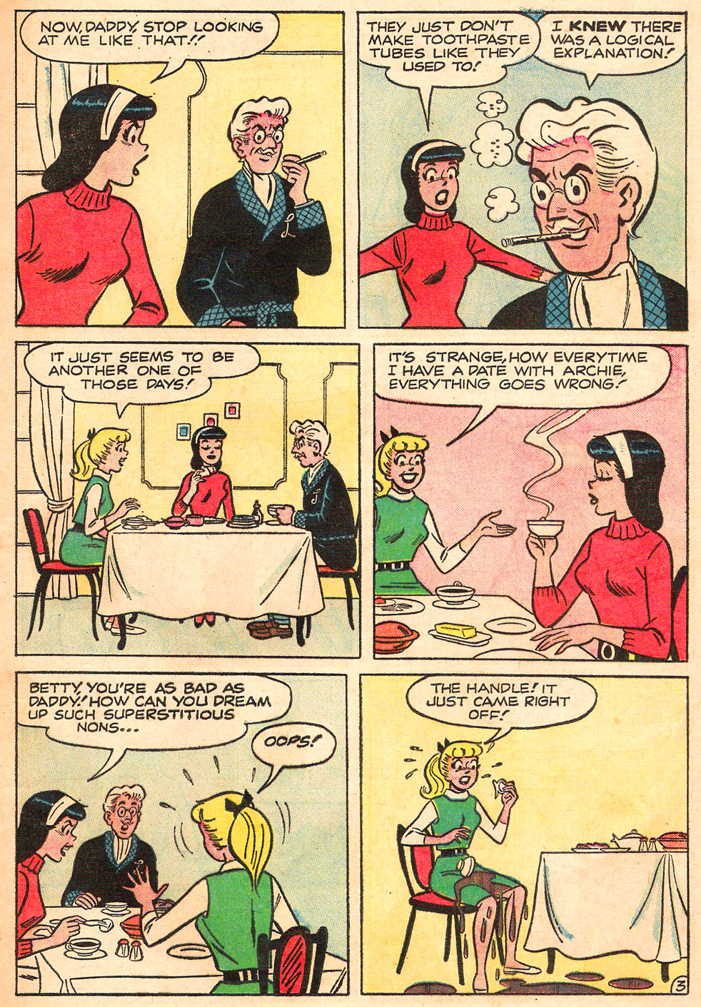 Read online Archie's Girls Betty and Veronica comic -  Issue #98 - 5
