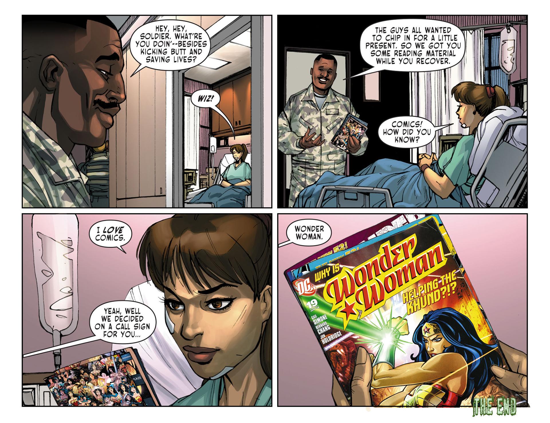Read online Sensation Comics Featuring Wonder Woman comic -  Issue #19 - 22