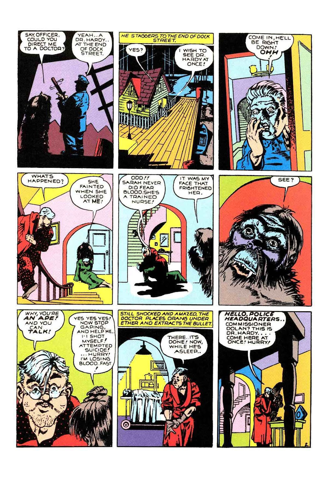 Read online Will Eisner's The Spirit Archives comic -  Issue # TPB 1 (Part 2) - 1