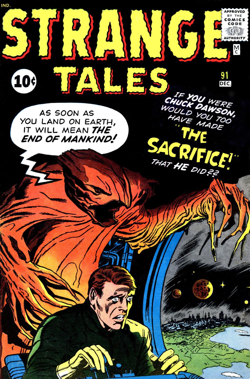 Strange Tales (1951) 91 Page 1