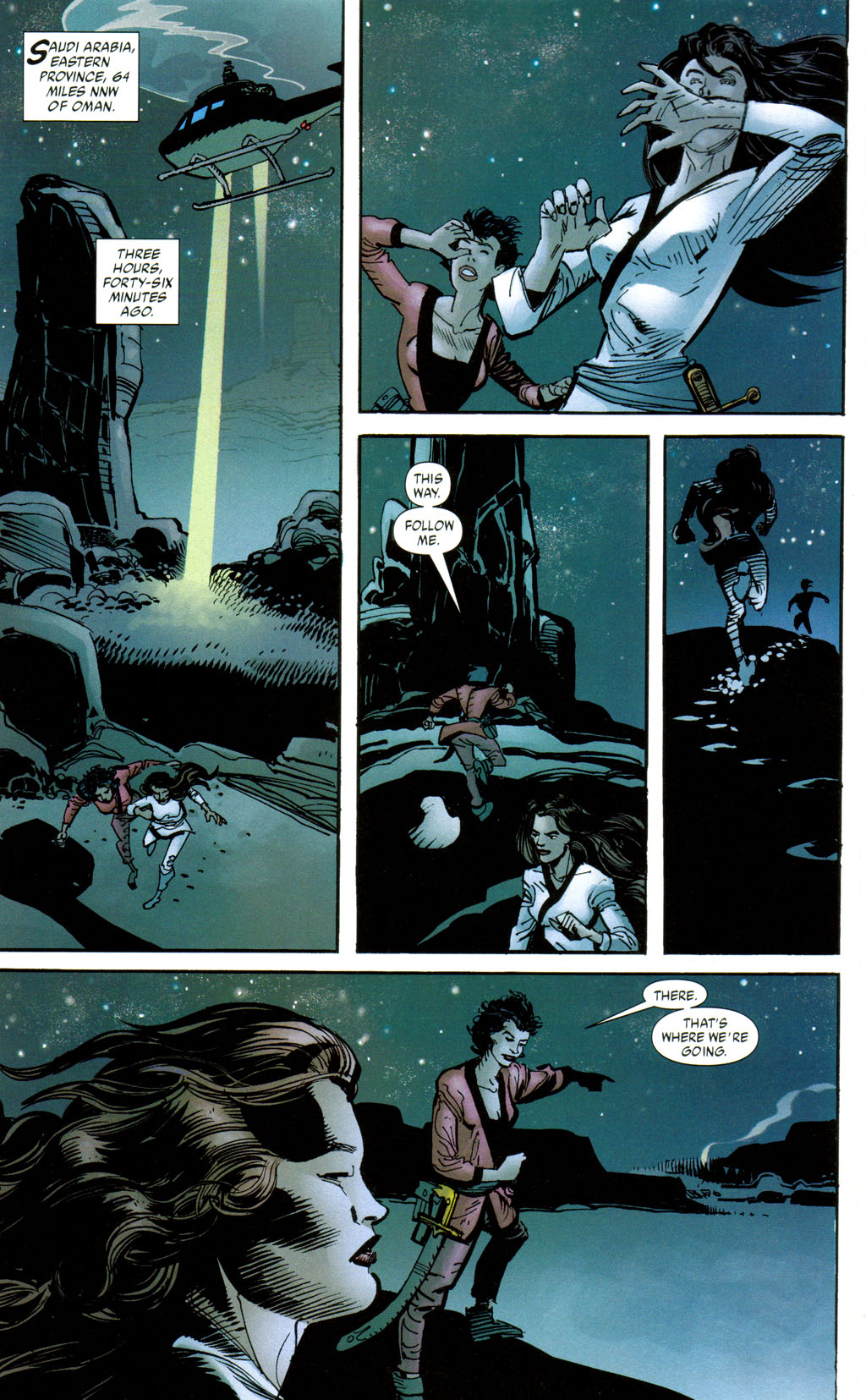 Read online Batman: Death and the Maidens comic -  Issue #8 - 9