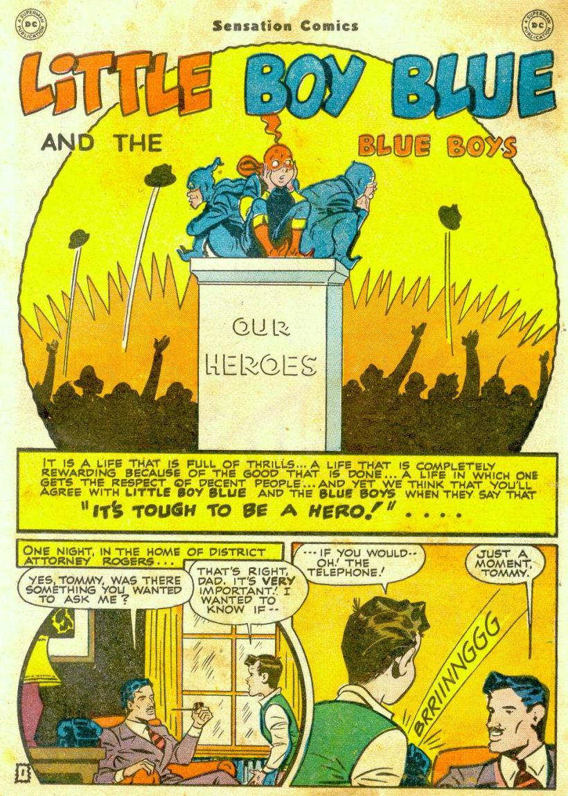 Read online Sensation (Mystery) Comics comic -  Issue #65 - 16