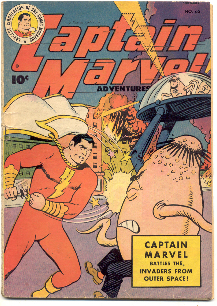 Captain Marvel Adventures issue 65 - Page 1