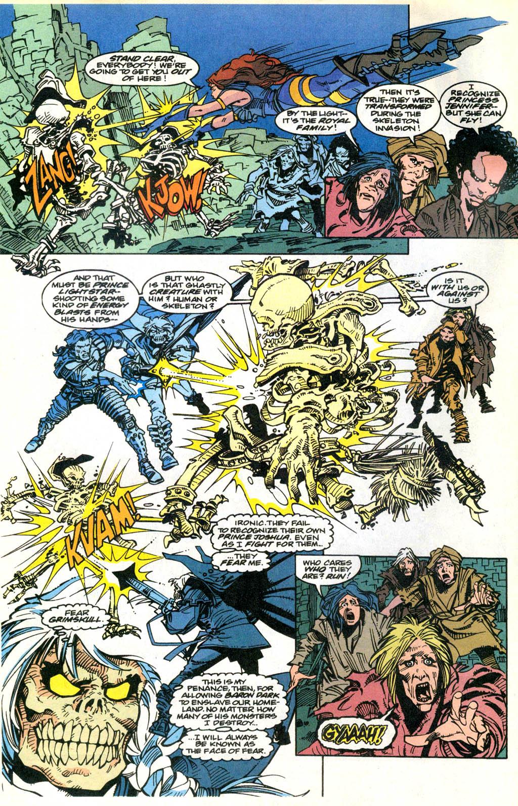 Skeleton Warriors Issue #2 #2 - English 3