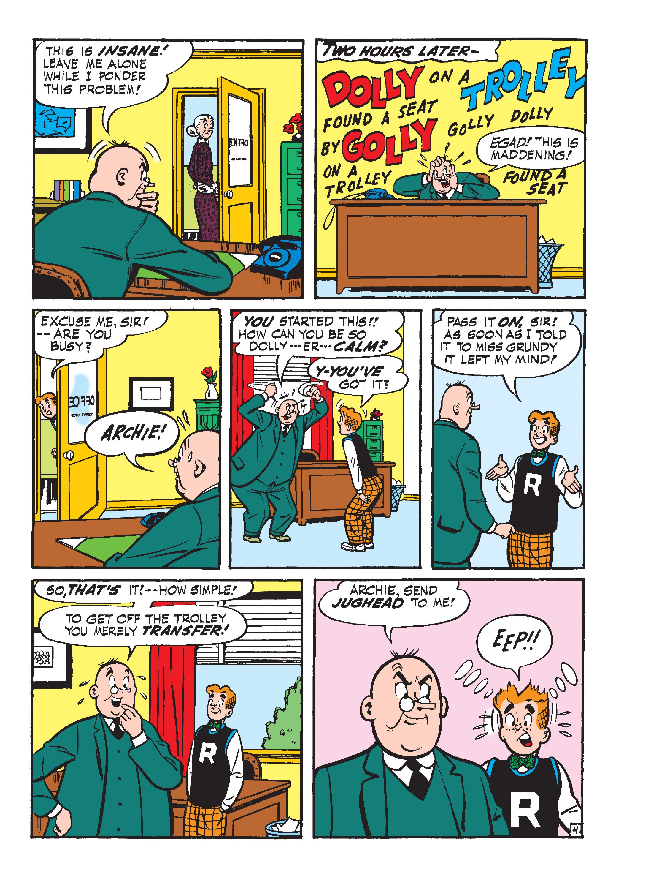 Read online Archie's Funhouse Double Digest comic -  Issue #15 - 151
