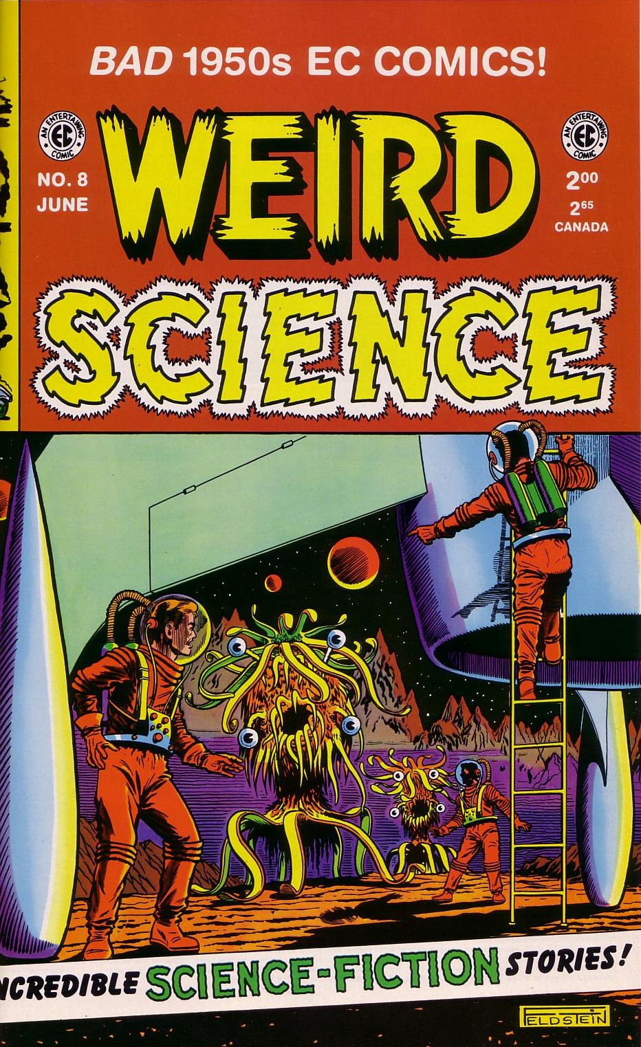 Weird Science 8 Page 1