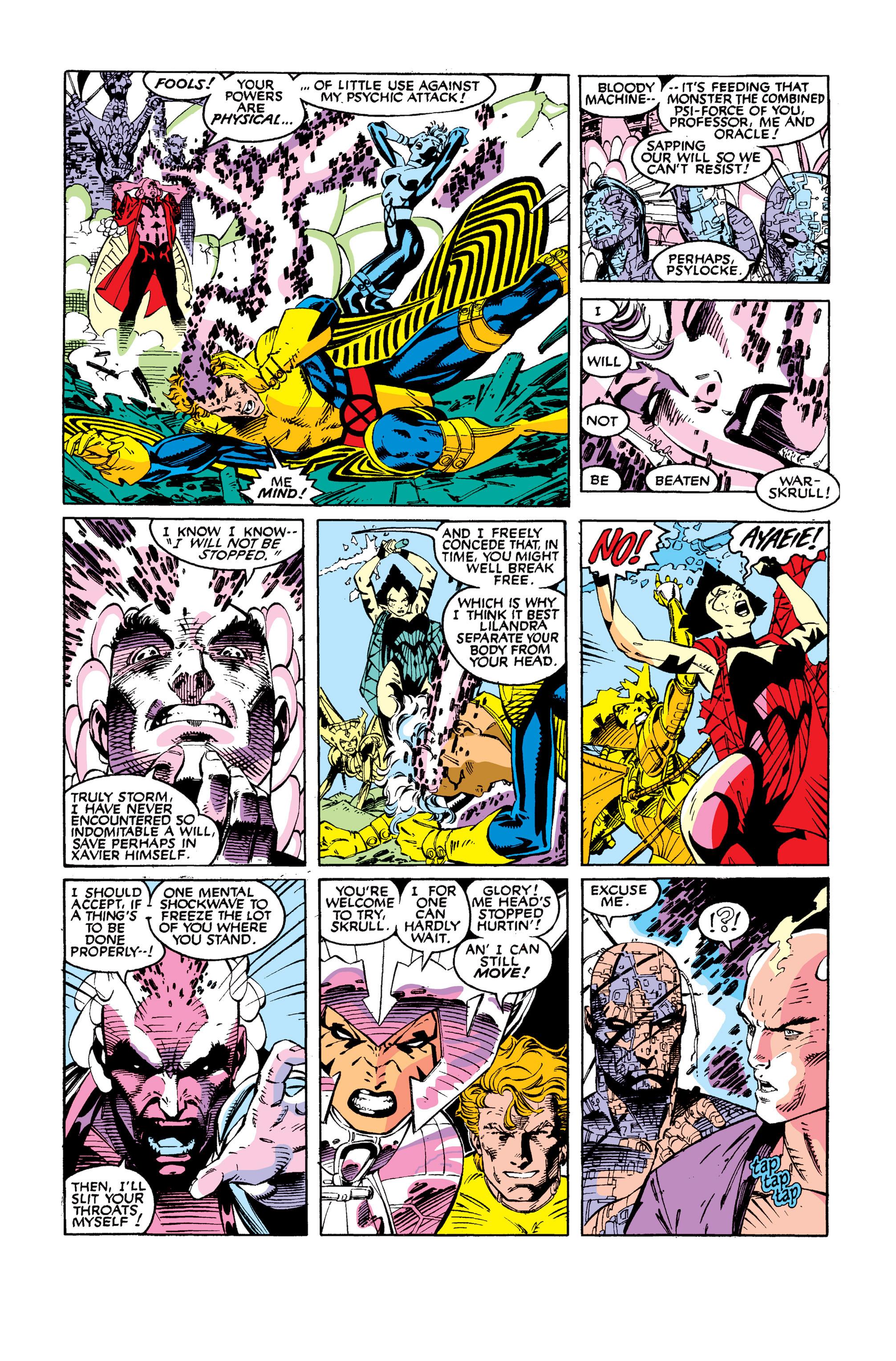 Read online Uncanny X-Men (1963) comic -  Issue #277 - 19