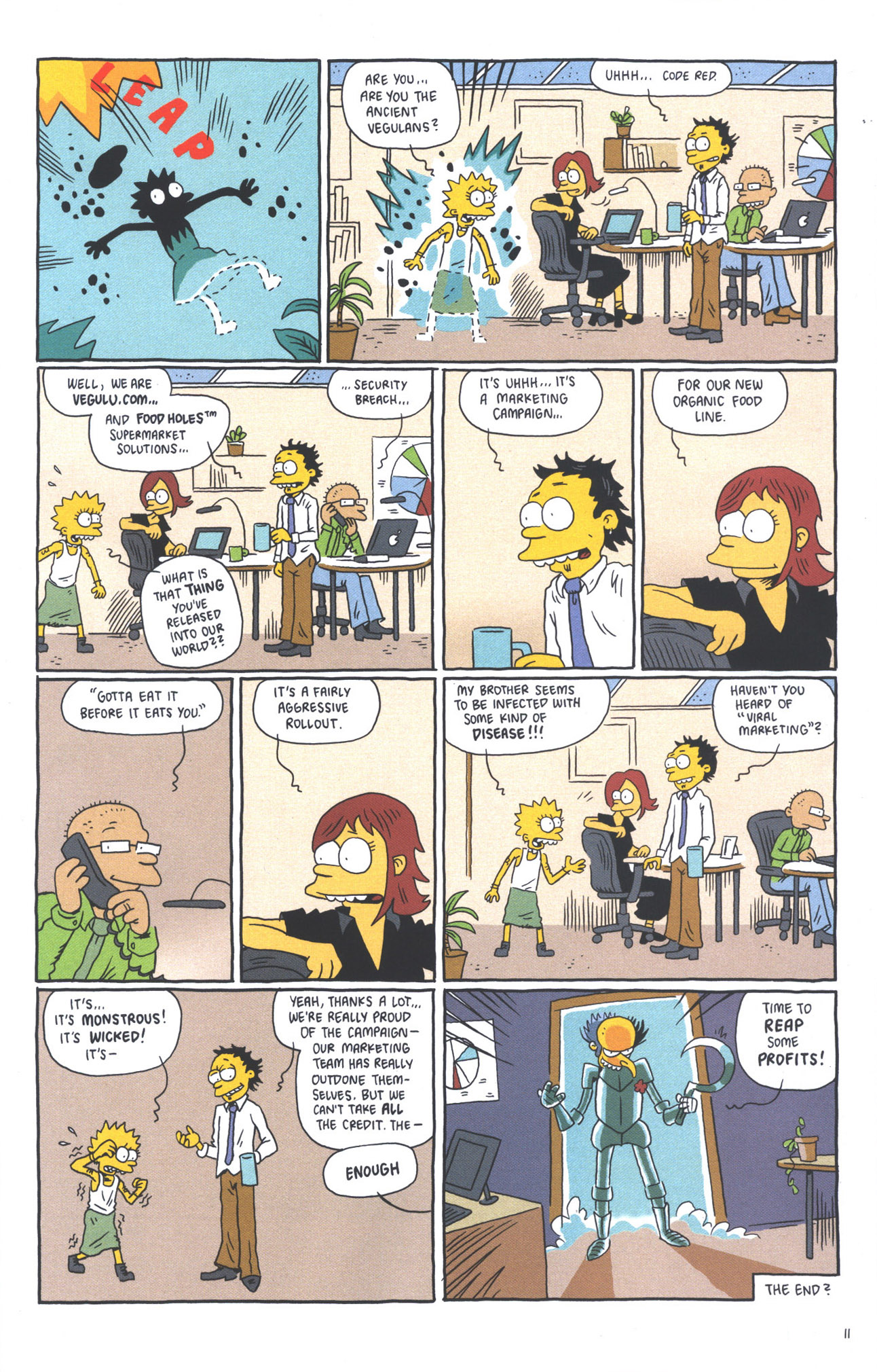 Read online Treehouse of Horror comic -  Issue #15 - 14