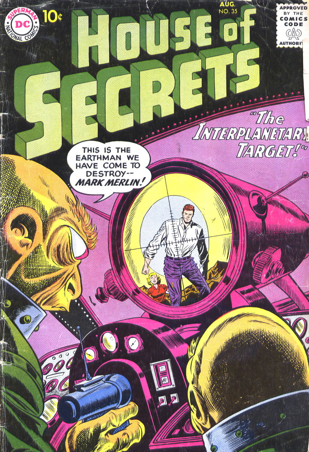 House of Secrets (1956) issue 35 - Page 1
