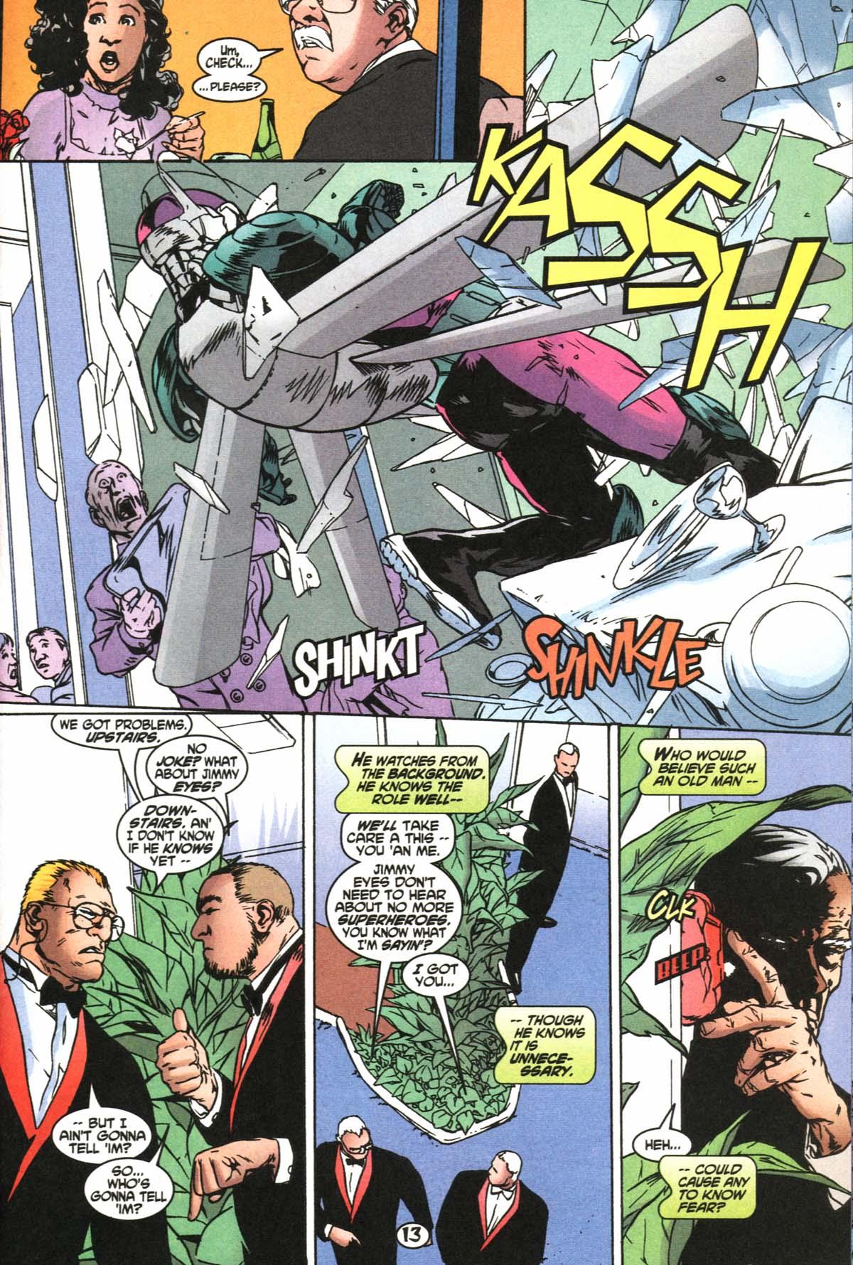 Read online Slingers comic -  Issue #4 - 14