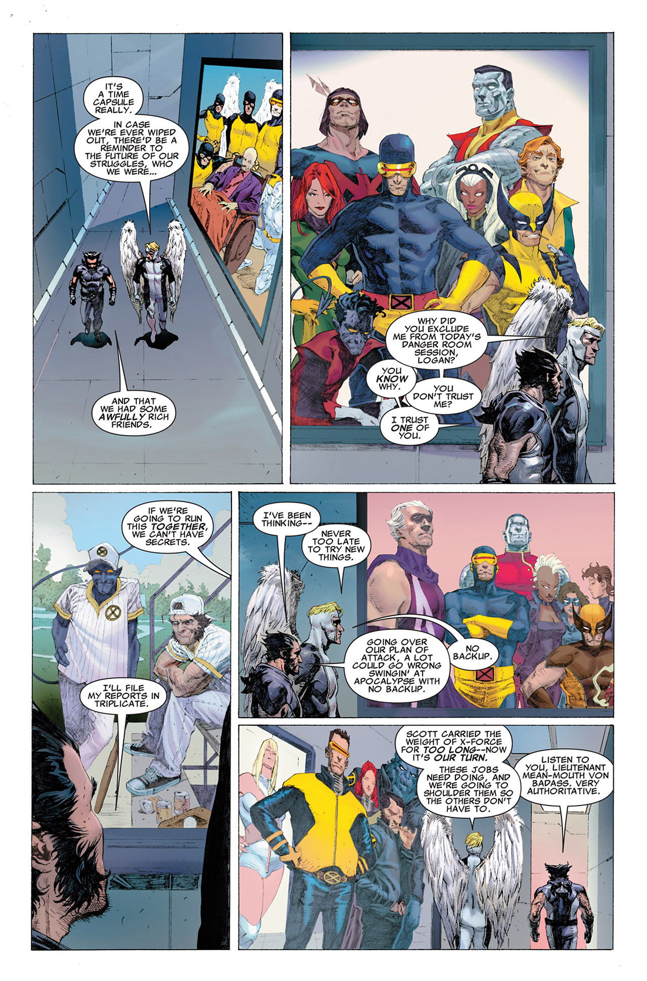 Read online Uncanny X-Force (2010) comic -  Issue #2 - 10