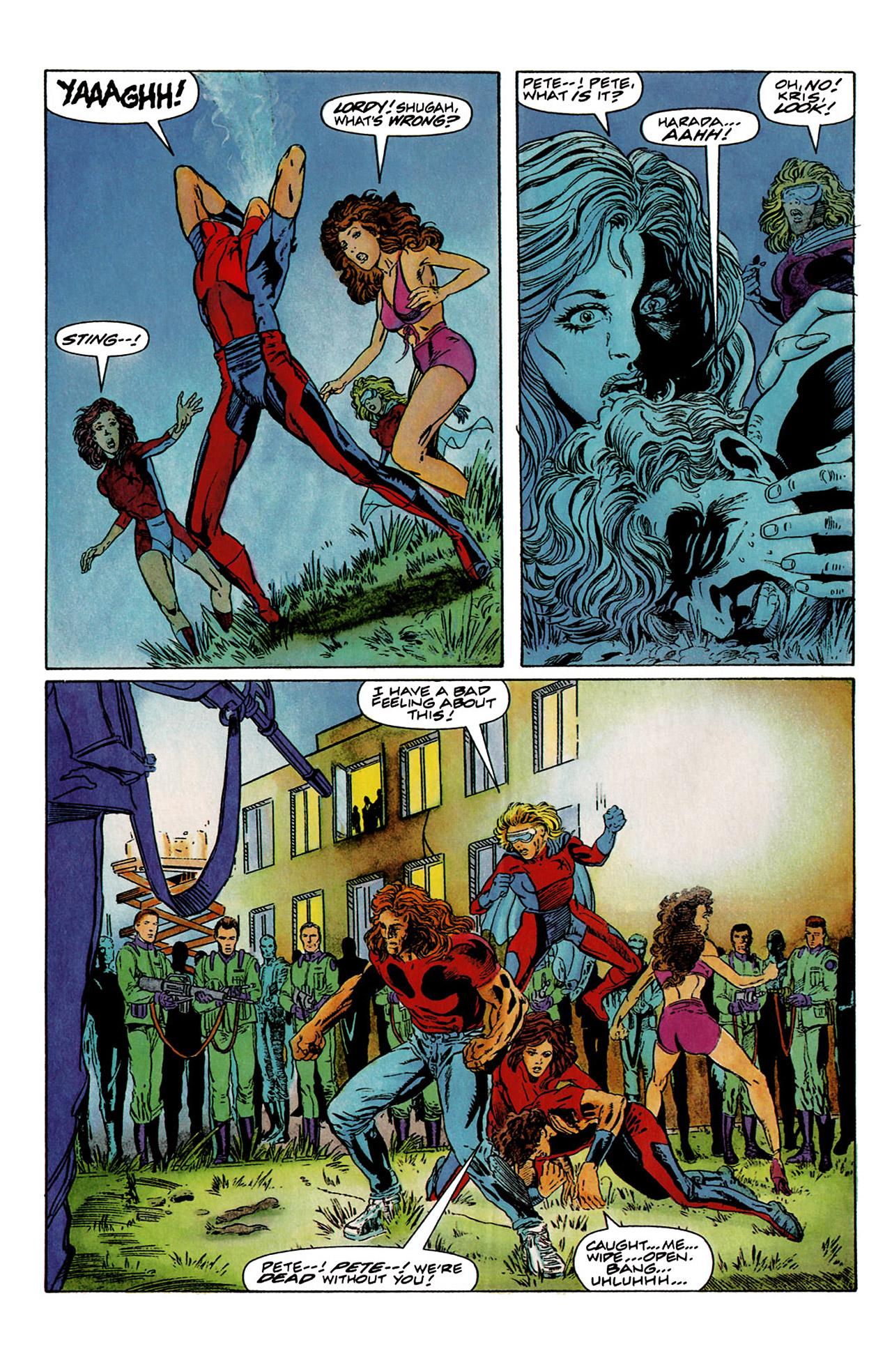 Read online Harbinger (1992) comic -  Issue #6 - 5