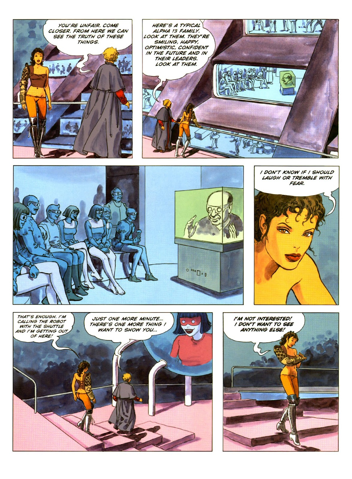 Read online Piranese The Prison Planet comic -  Issue # Full - 42