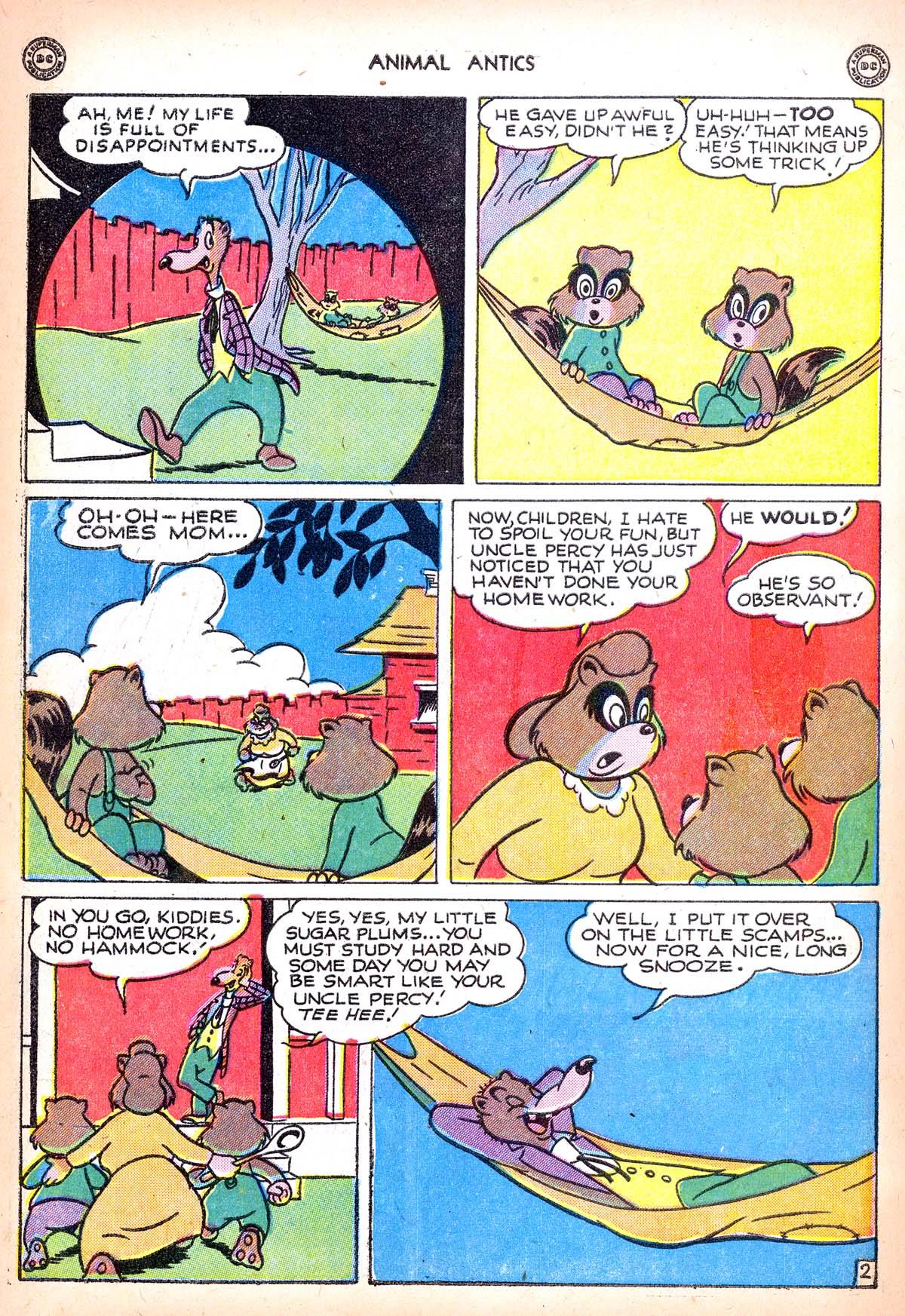 Read online Animal Antics comic -  Issue #6 - 44