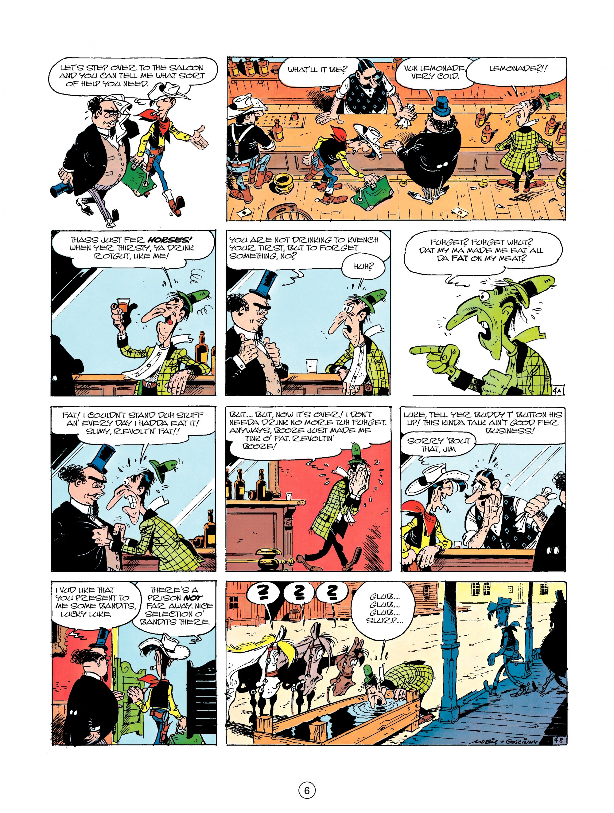 Read online A Lucky Luke Adventure comic -  Issue #23 - 6